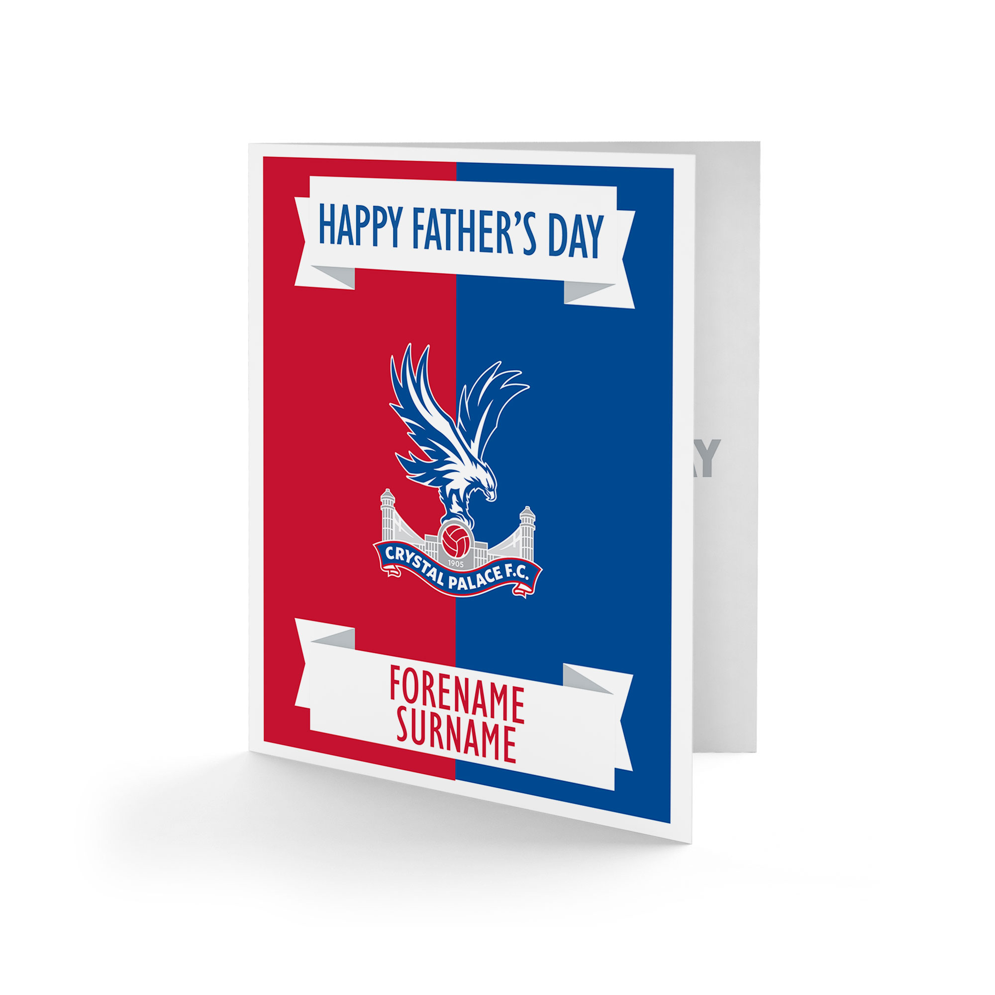 Crystal Palace FC Crest Father's Day Card