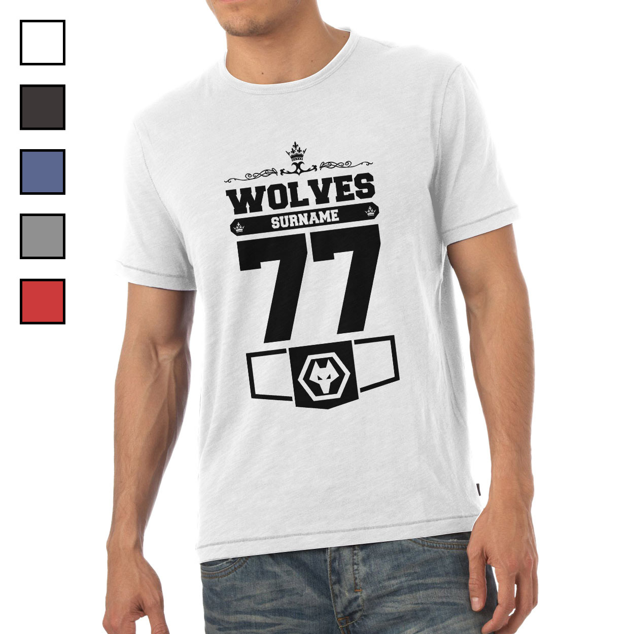 Wolves Mens Club T-Shirt