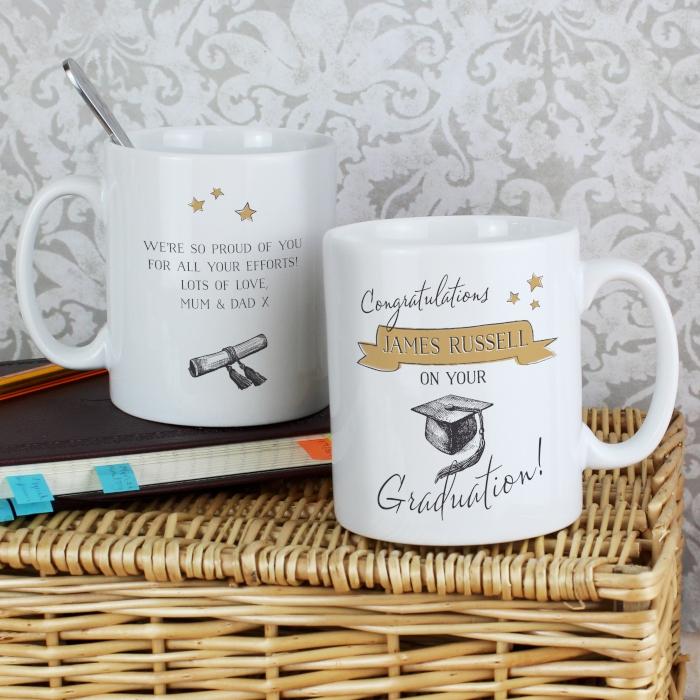 Personalised Graduation Mug Gift