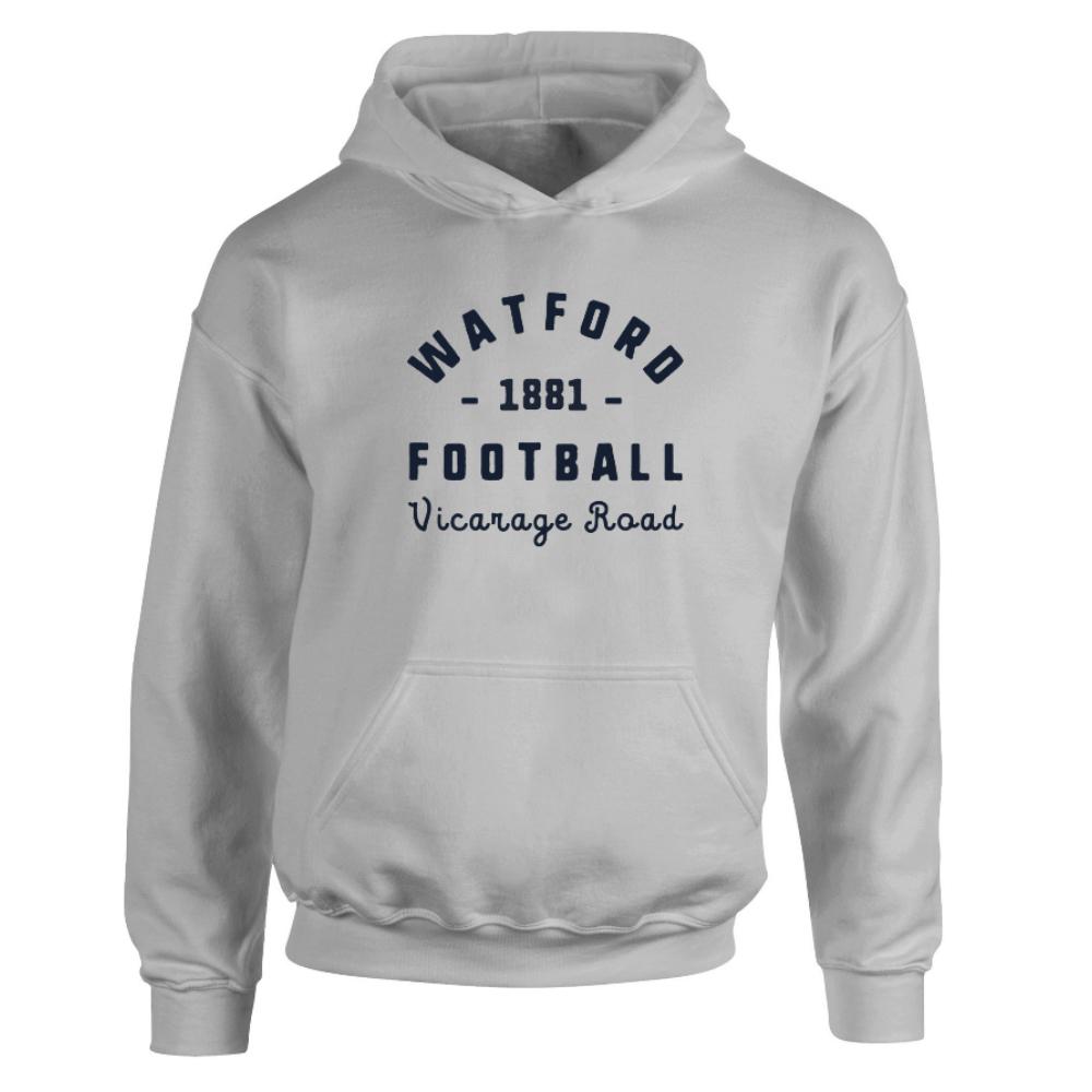 Watford FC Stadium Vintage Hoodie