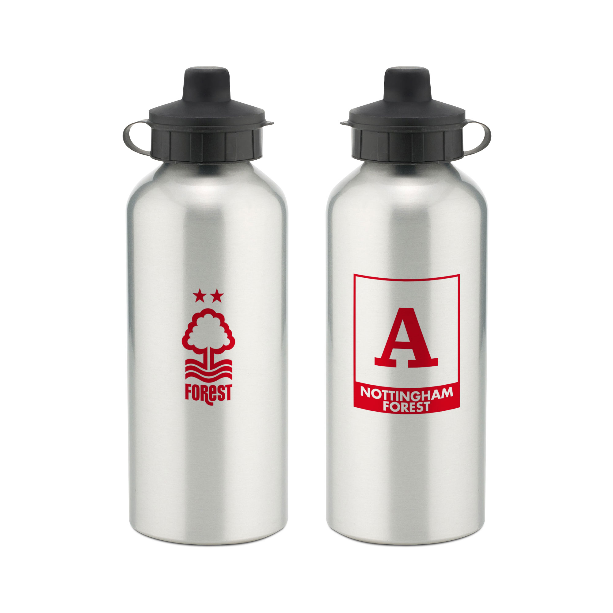 Nottingham Forest FC Monogram Aluminium Water Bottle