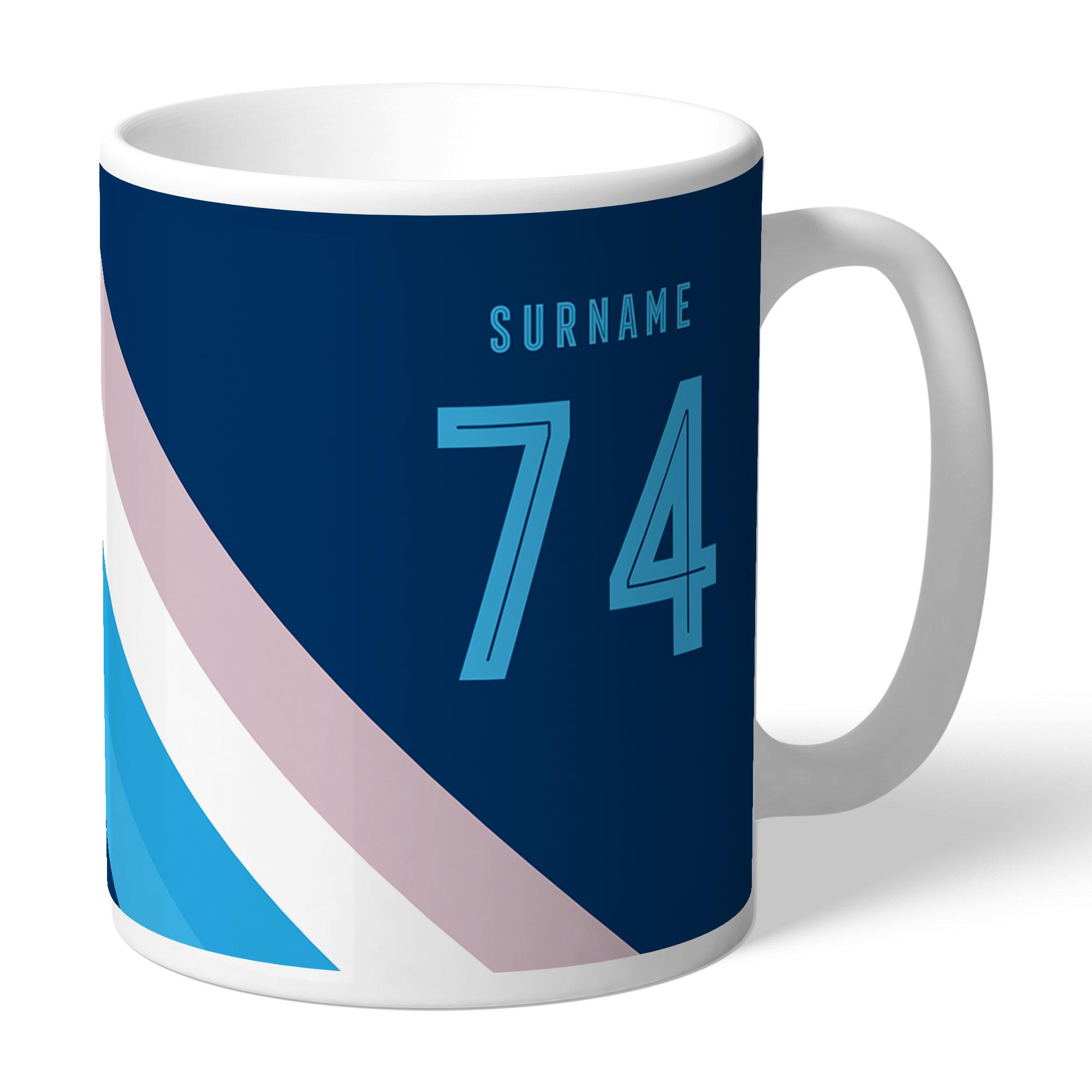 Wycombe Wanderers Stripe Mug