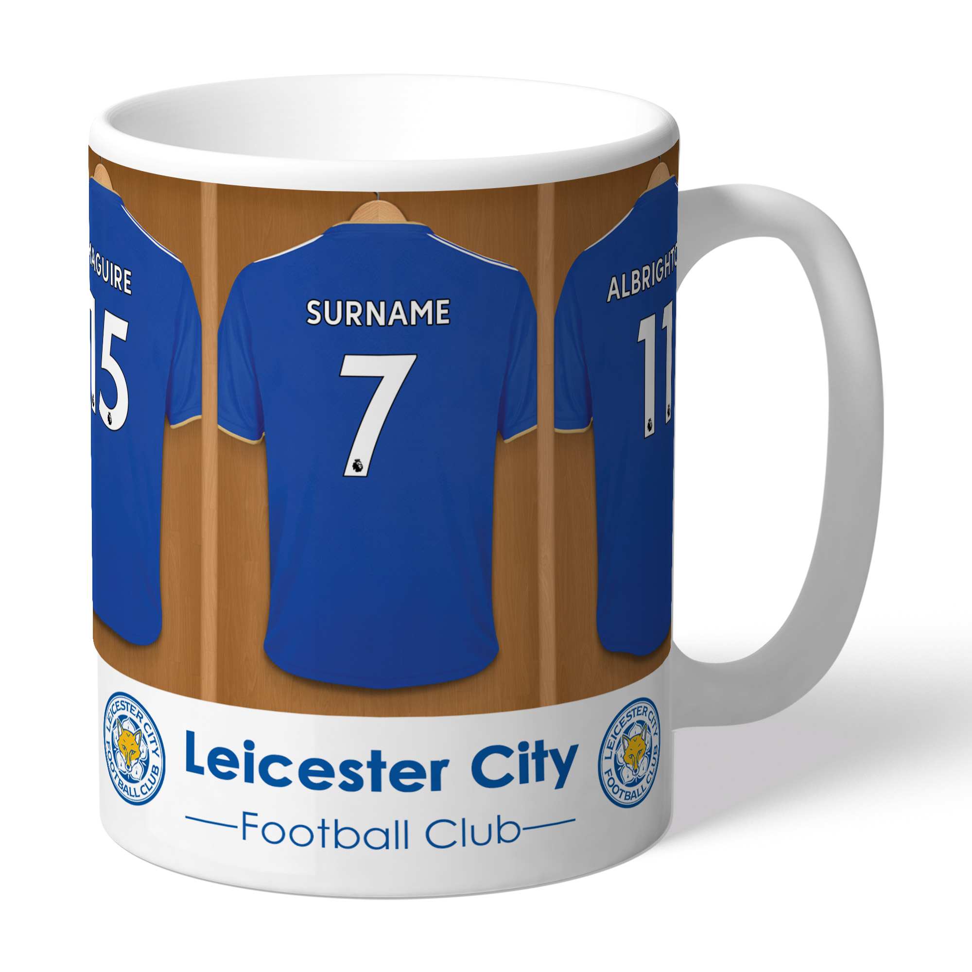 Leicester City FC Dressing Room Mug