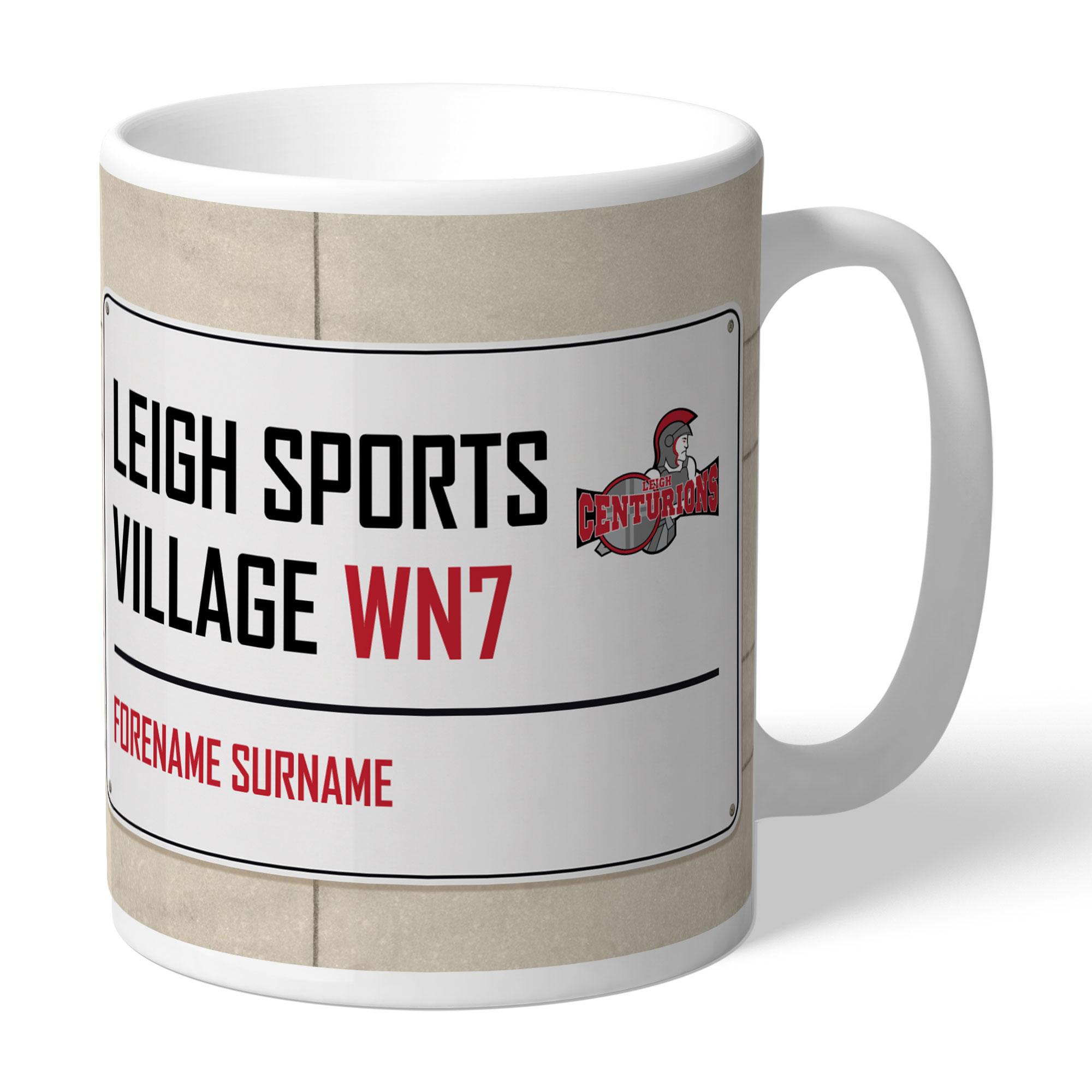 Leigh Centurions Street Sign Mug