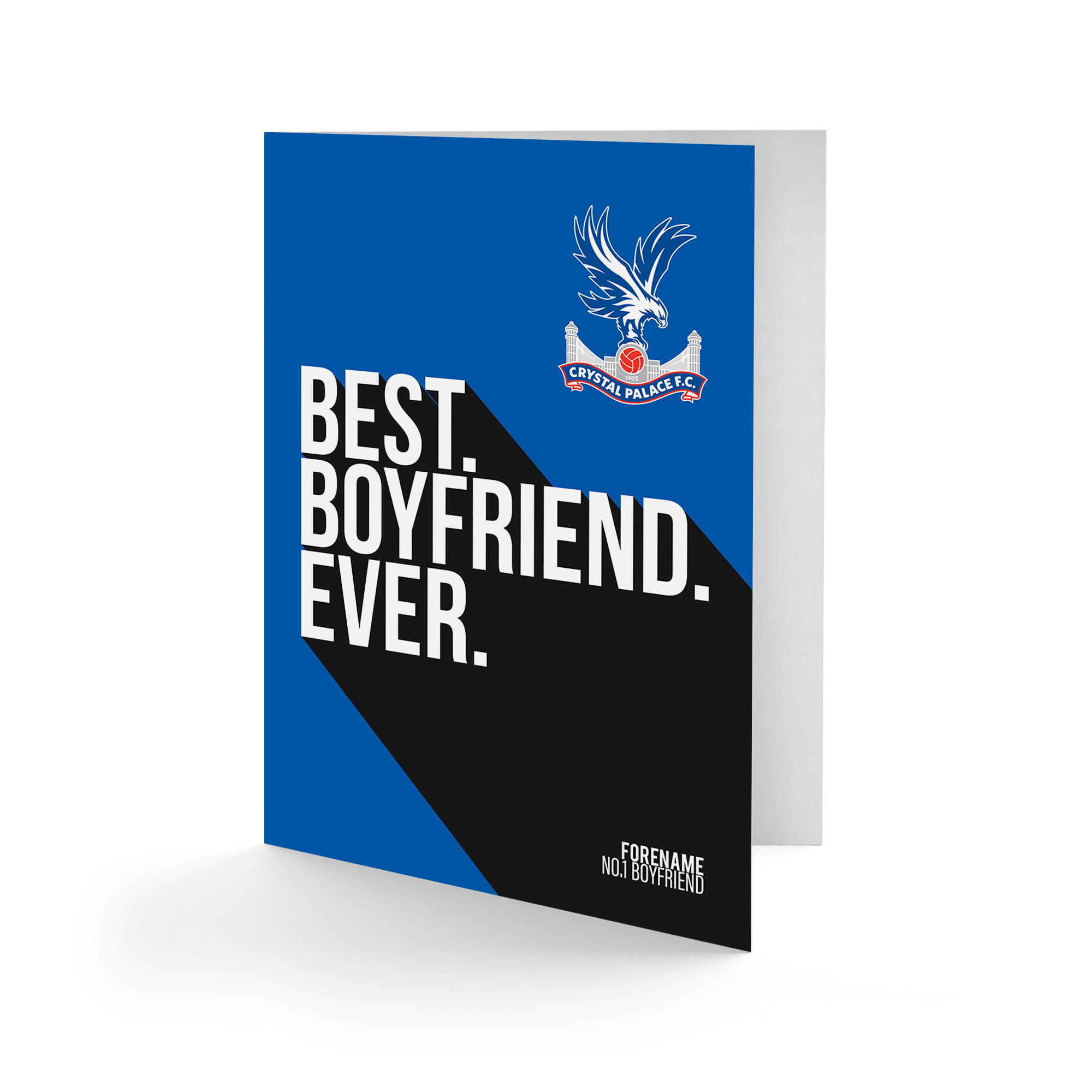 Crystal Palace FC Best Boyfriend Ever Card