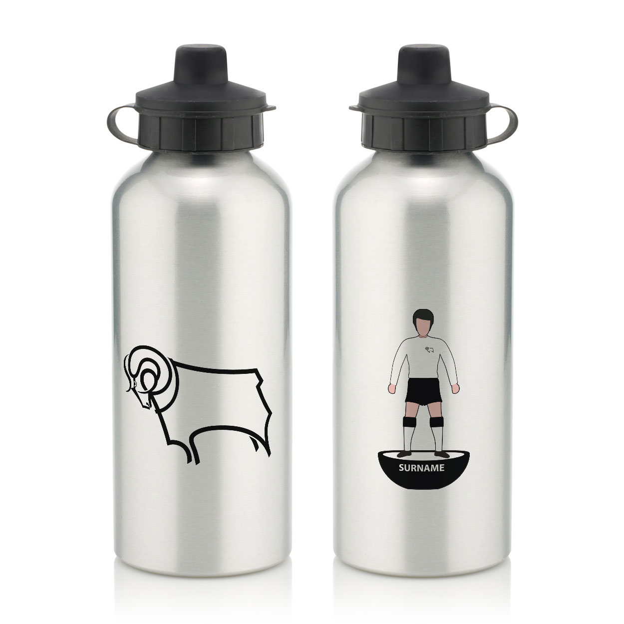 Derby County Player Figure Water Bottle