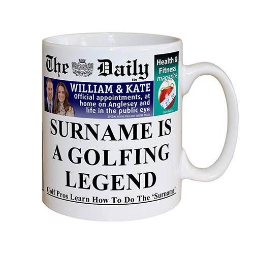The Daily Golf Legend Mug