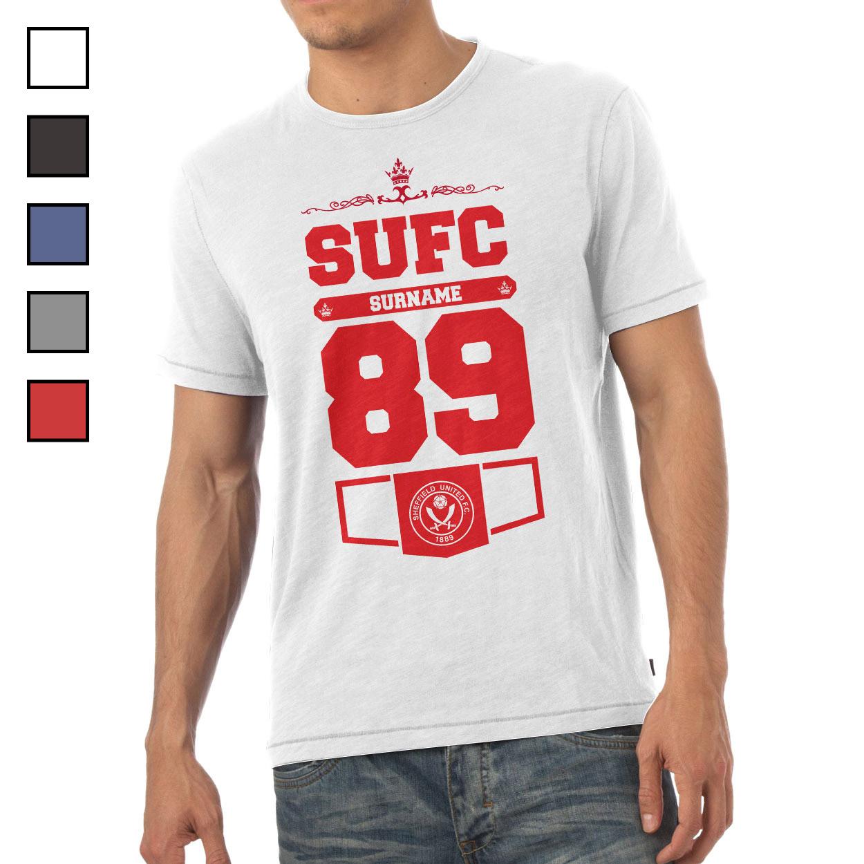 Sheffield United FC Mens Club T-Shirt