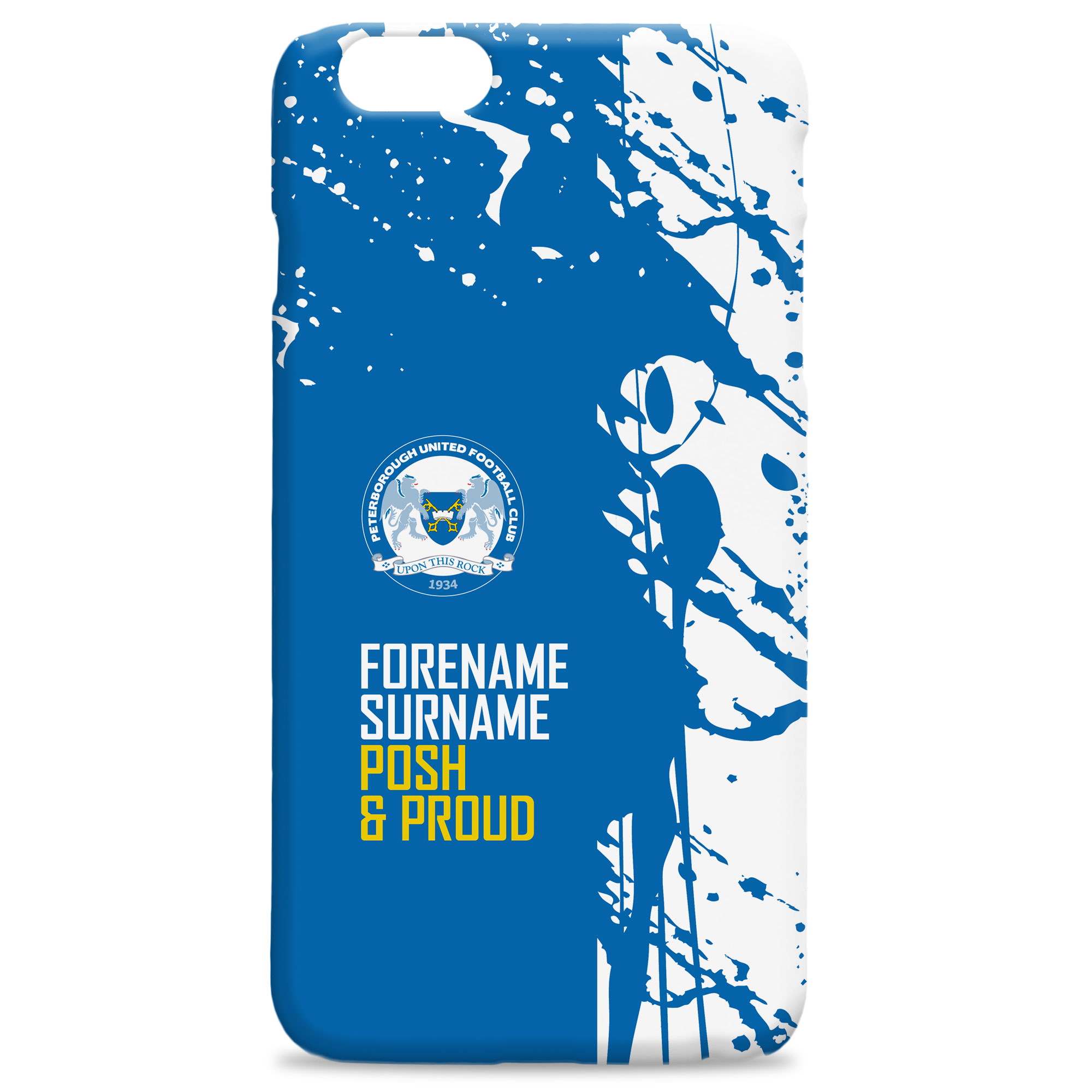 Peterborough United FC Proud Hard Back Phone Case