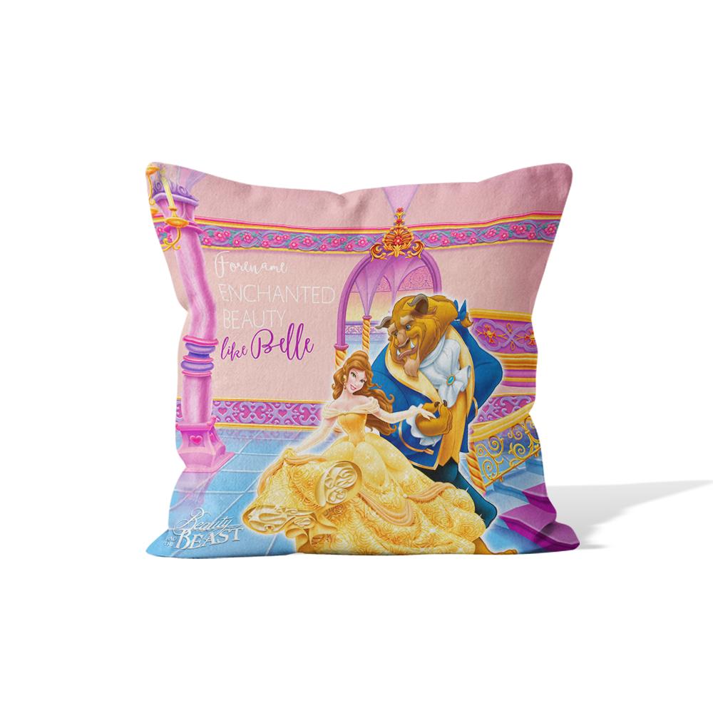 Disney Beauty and The Beast Dance Cushion