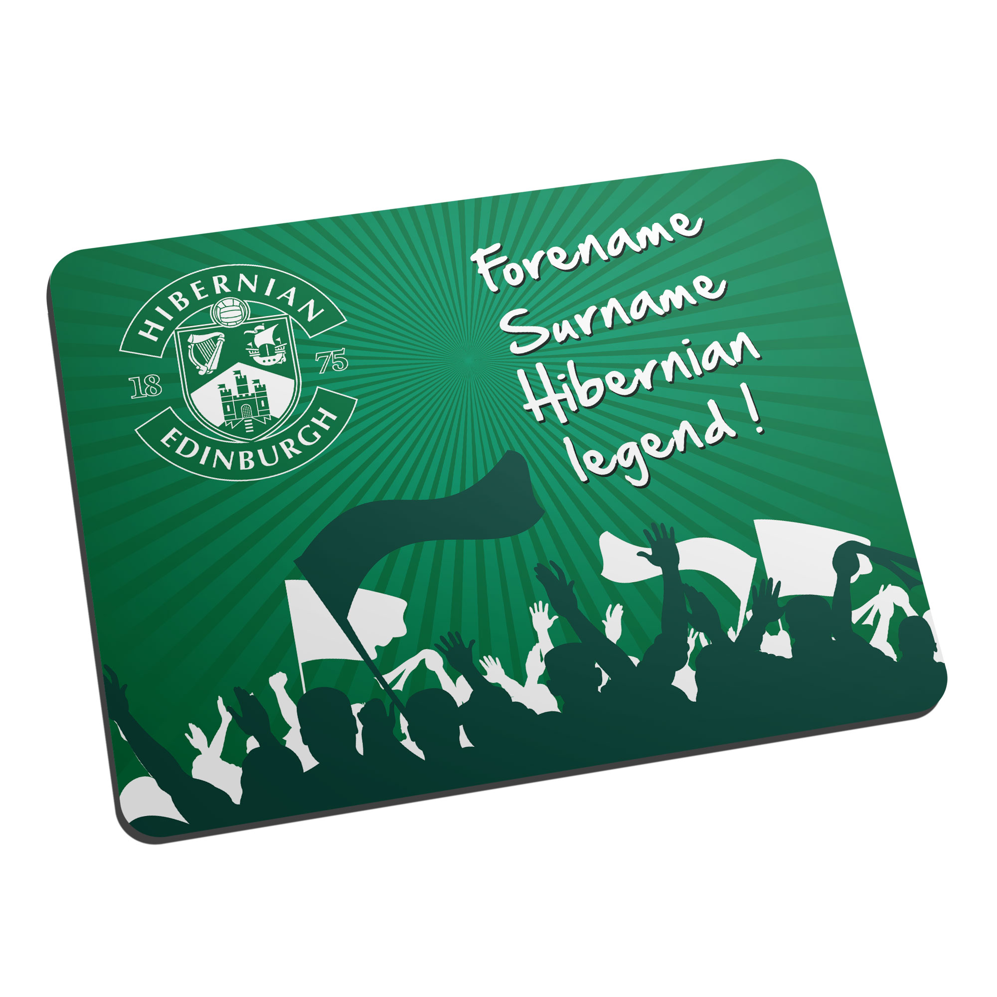 Hibernian FC Legend Mouse Mat