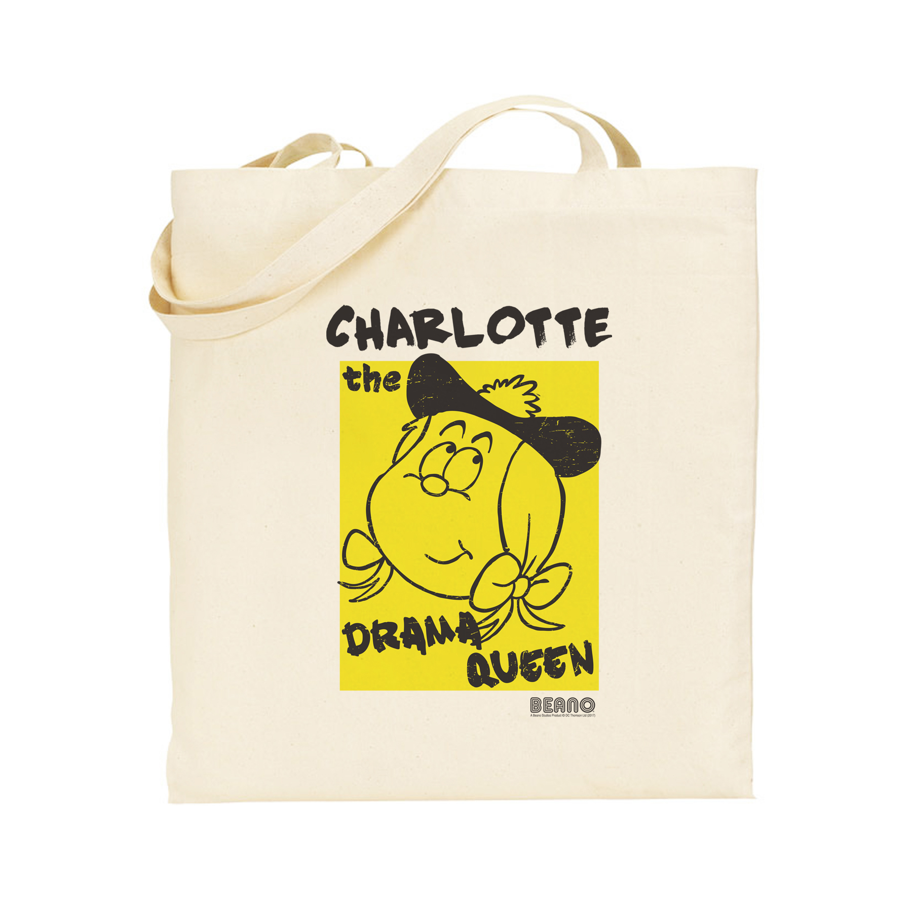 Beano Big Heads Minnie Tote Bag