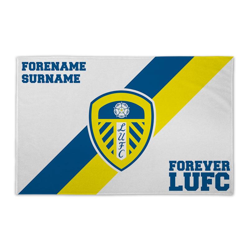 Leeds United FC Forever 8ft x 5ft Banner