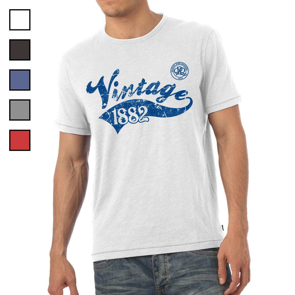 Queens Park Rangers FC Mens Vintage T-Shirt