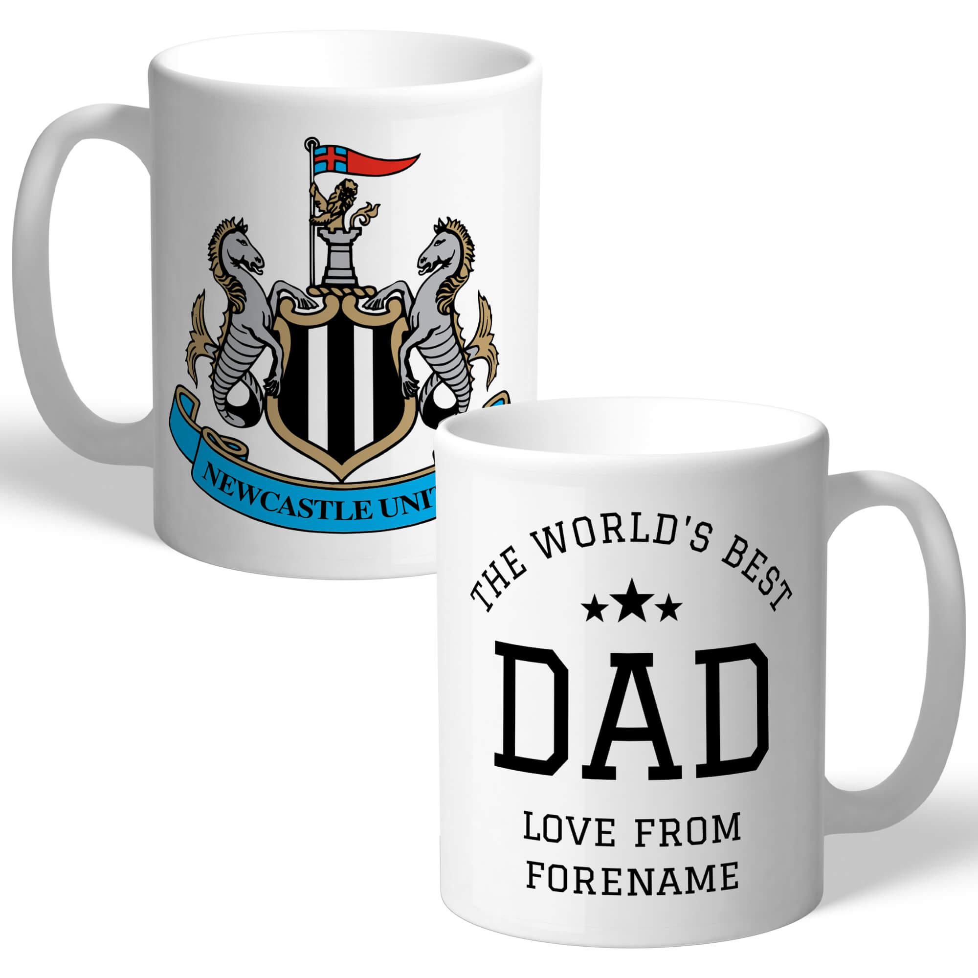 Newcastle United FC World's Best Dad Mug