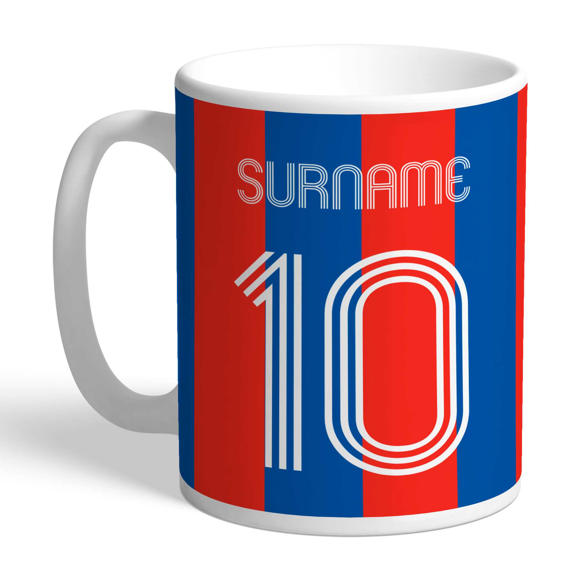 Crystal Palace FC Retro Shirt Mug