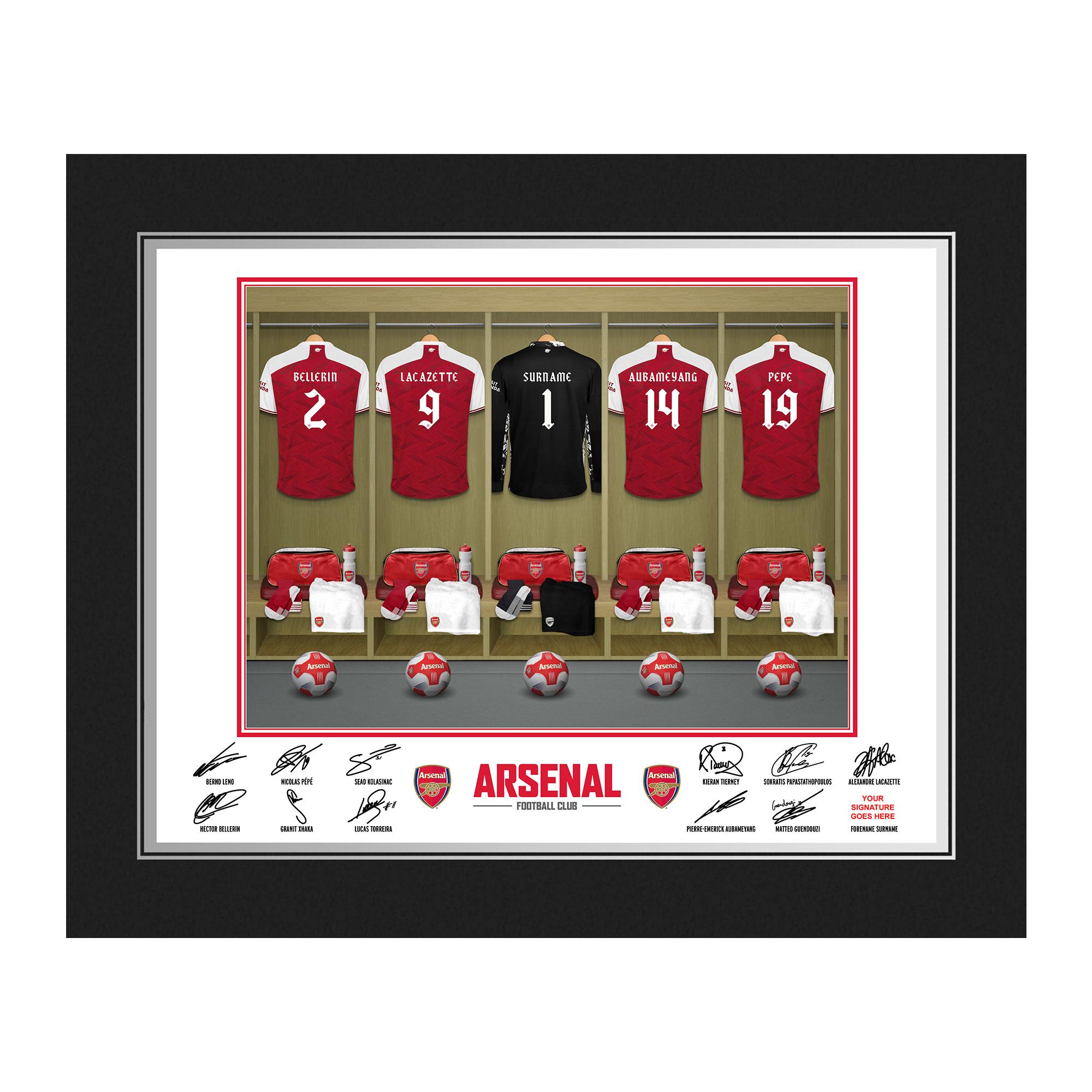 AFC Goalkeeper Dressing Room Photo Folder