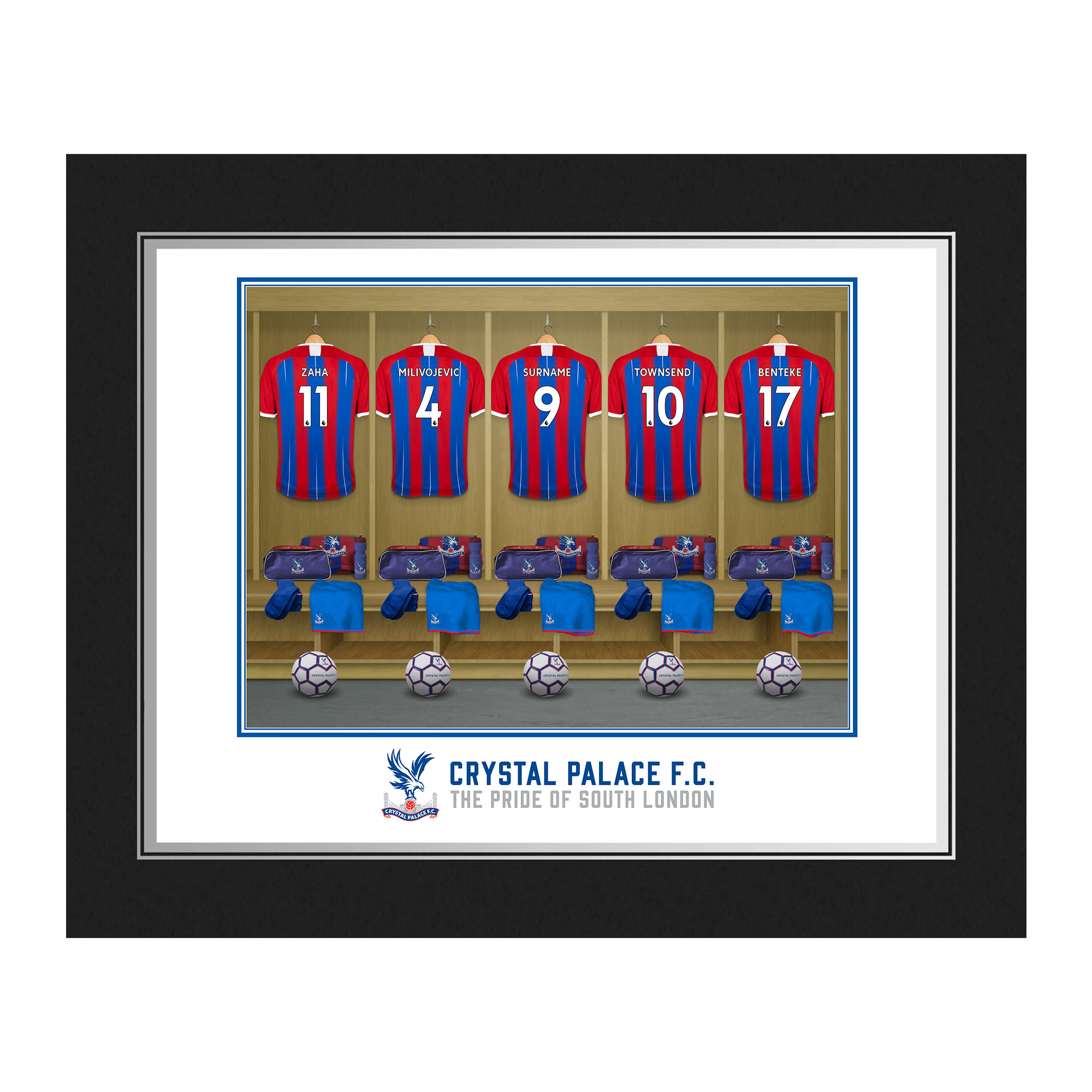 Crystal Palace FC Dressing Room Photo Folder