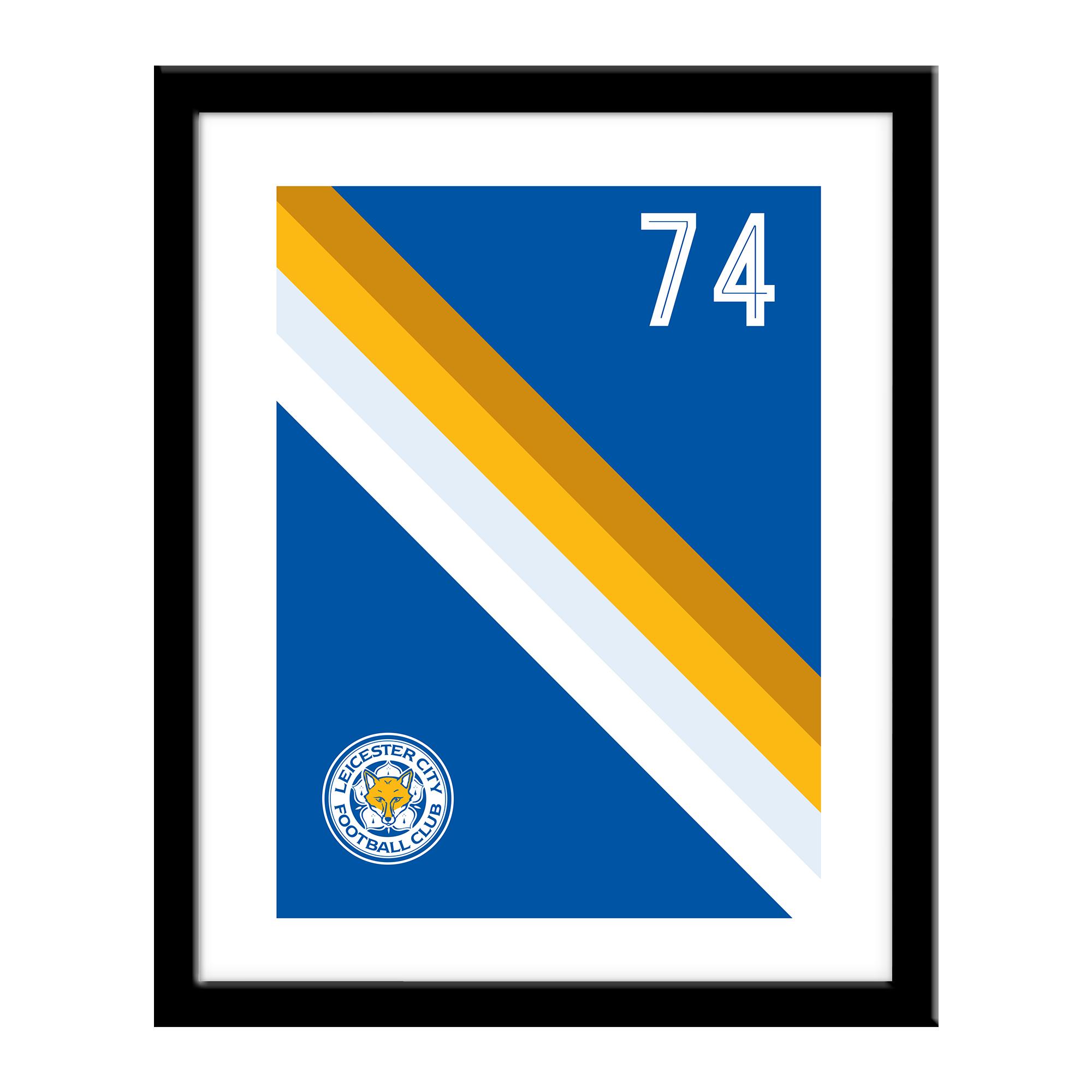 Leicester City FC Stripe Print