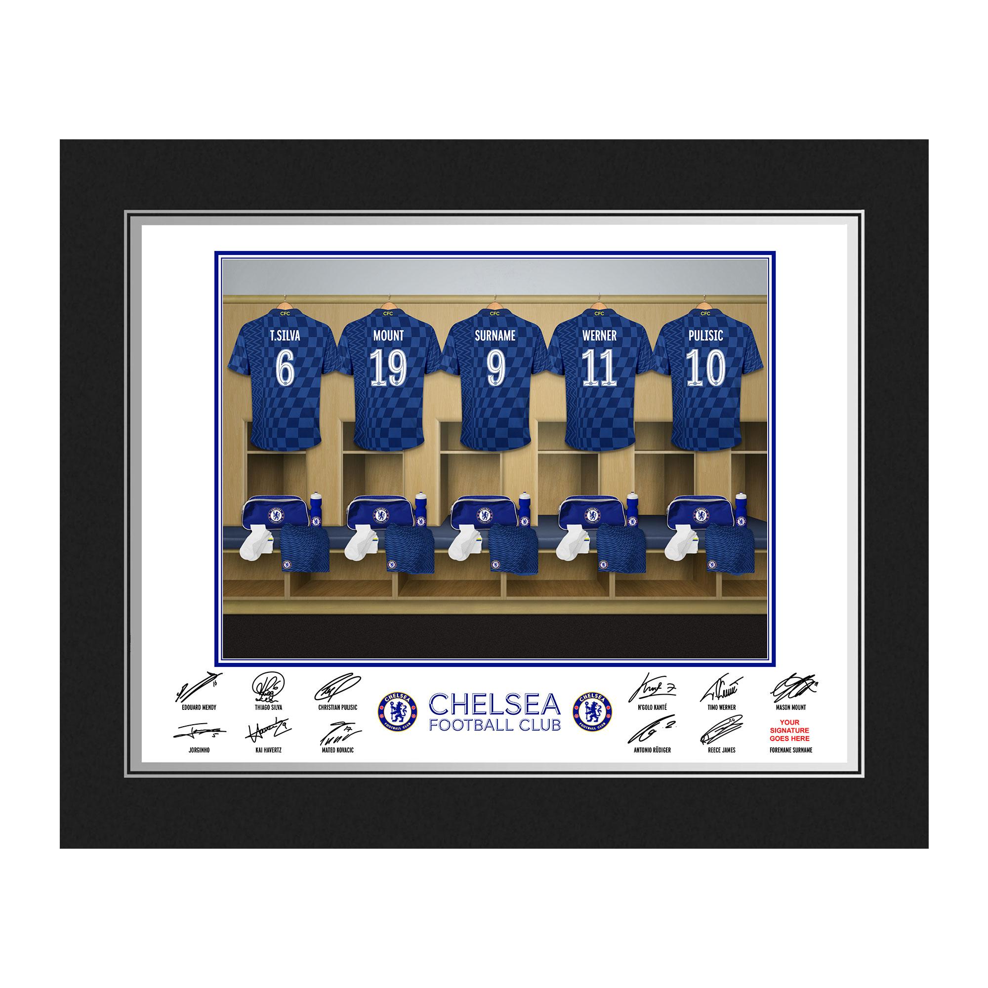 Chelsea FC Dressing Room Photo Folder