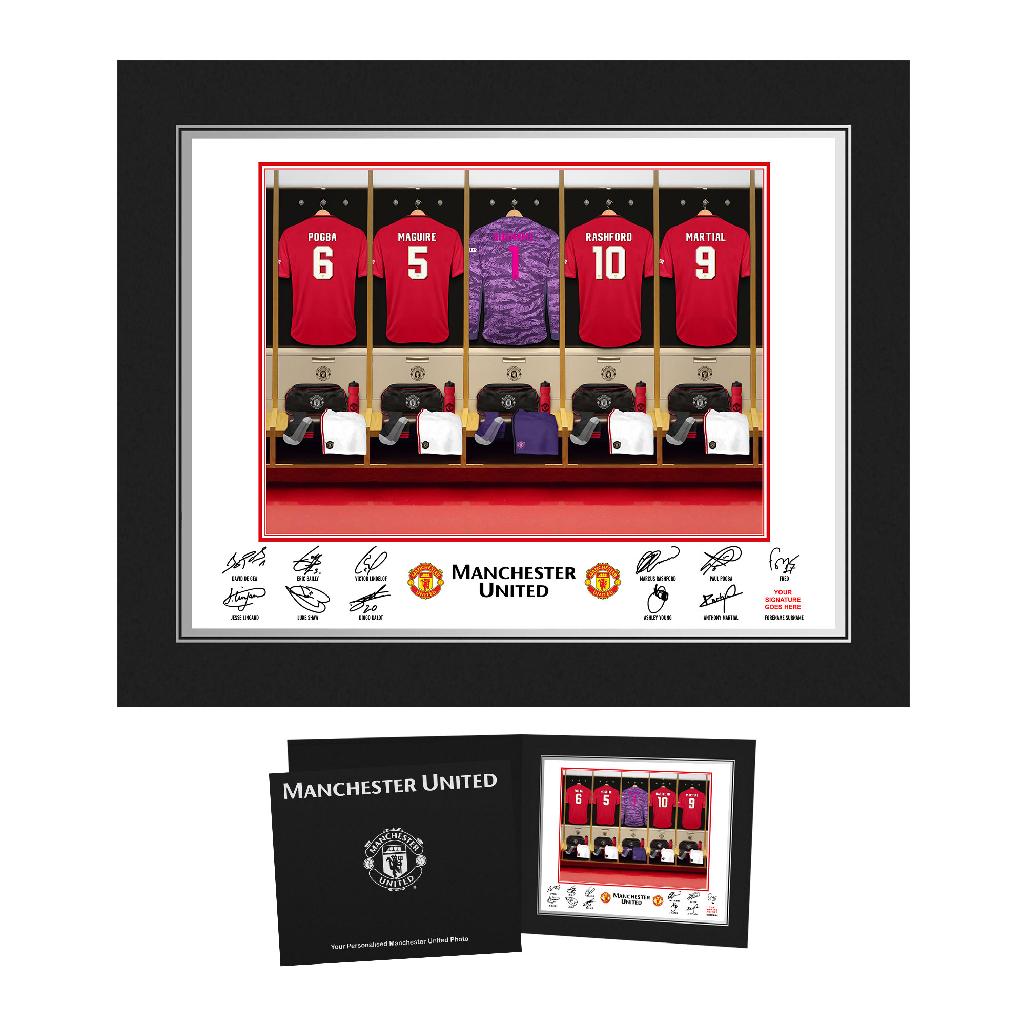 MUFC Goalkeeper Dressing Room Photo Folder