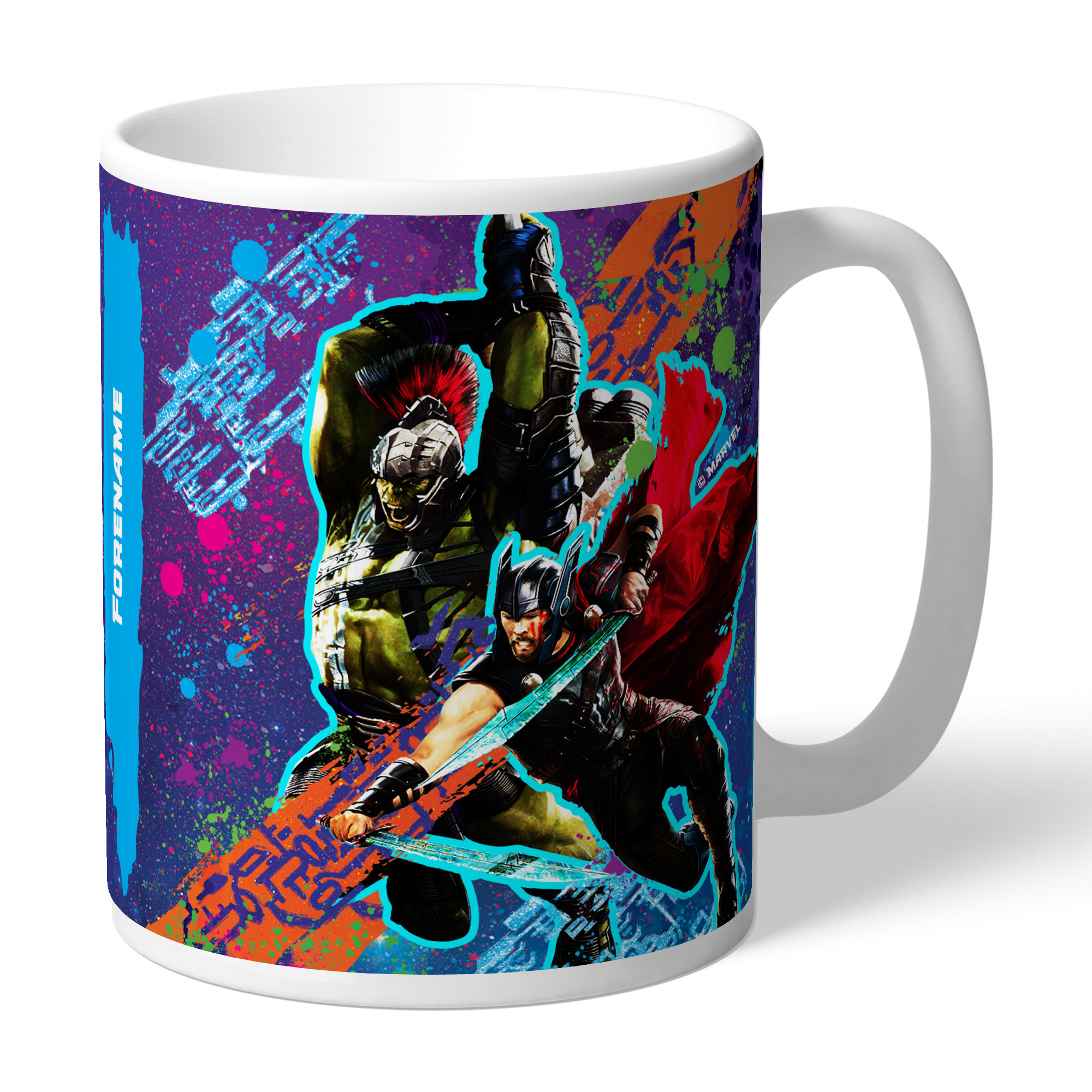 Marvel Thor Ragnarok Colour Splash Mug