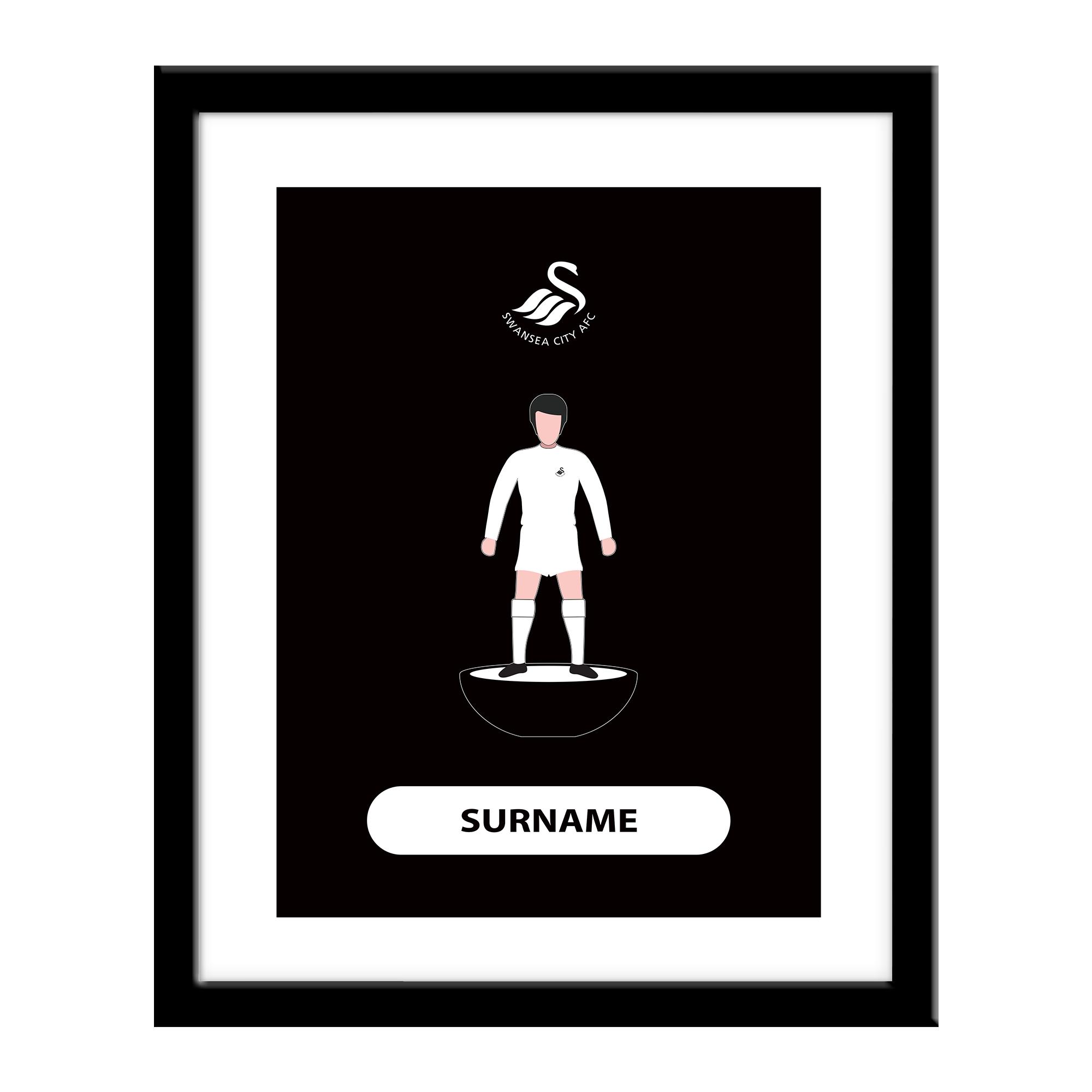 Swansea City AFC Player Figure Print