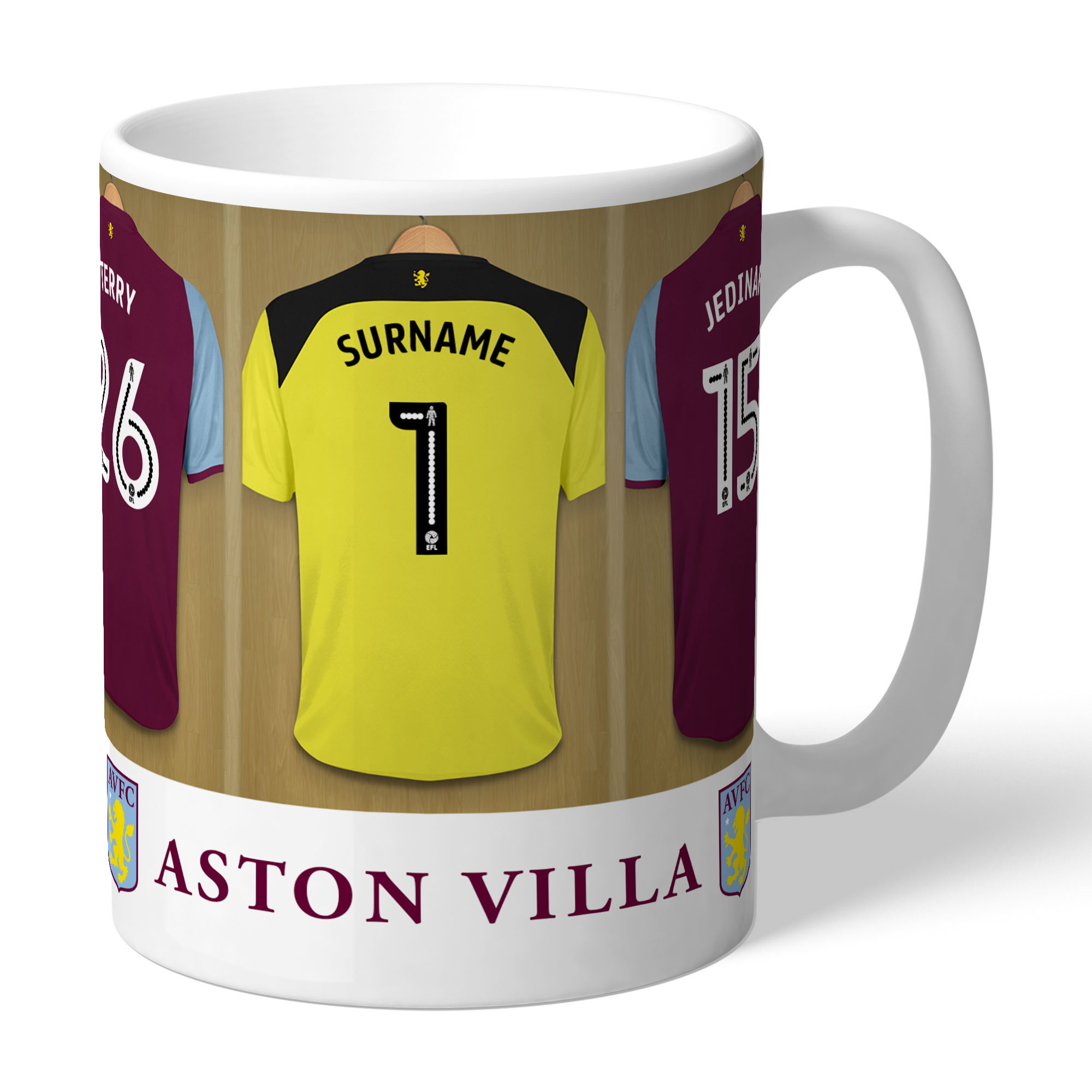 Aston Villa FC Goalkeeper Dressing Room Mug