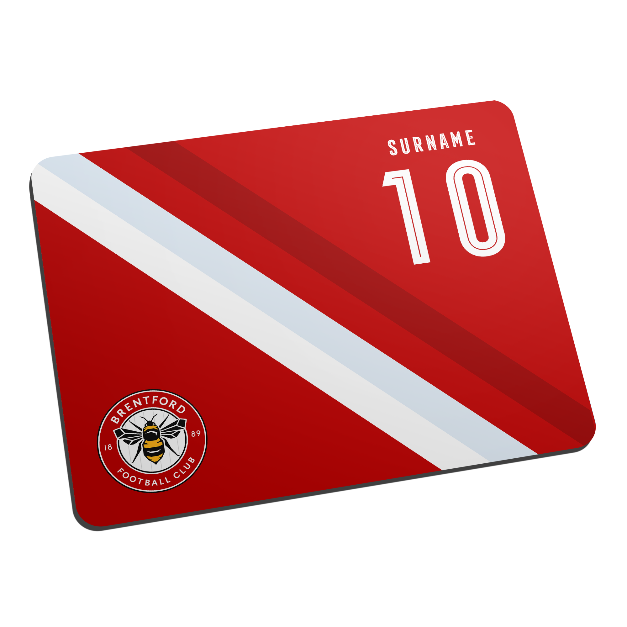 Brentford Stripe Mouse Mat