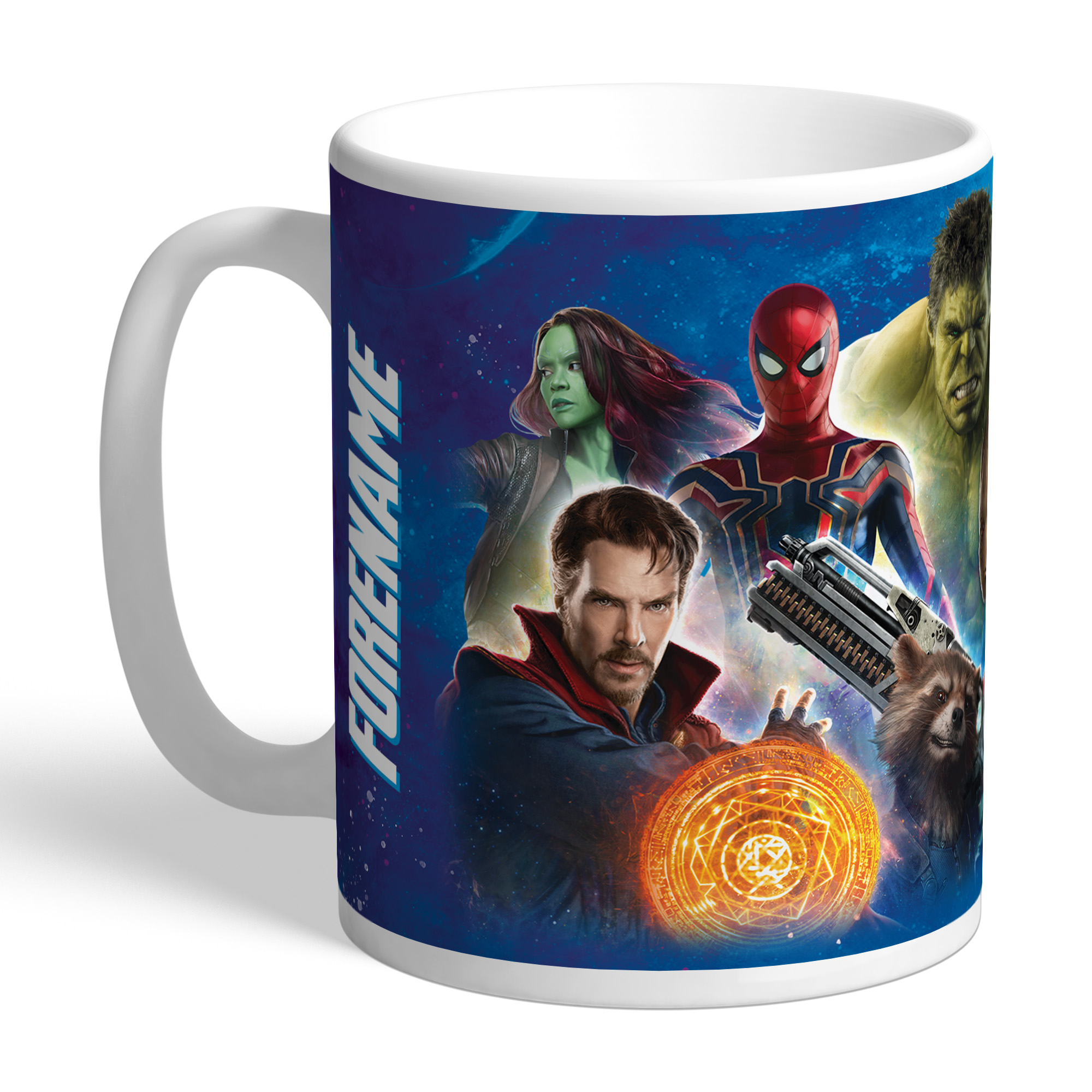 Marvel Infinity War Group Shot Mug