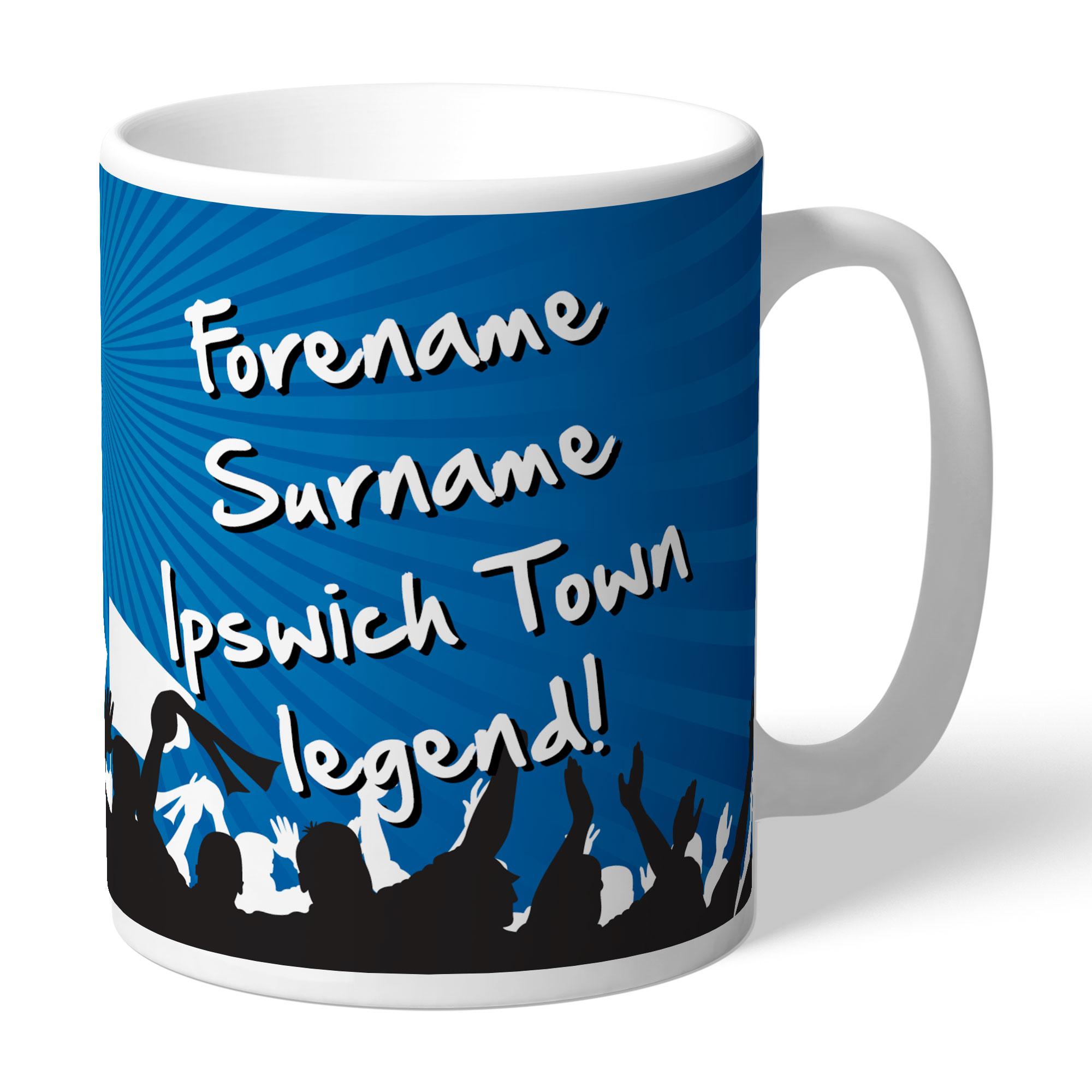 Ipswich Town FC Legend Mug