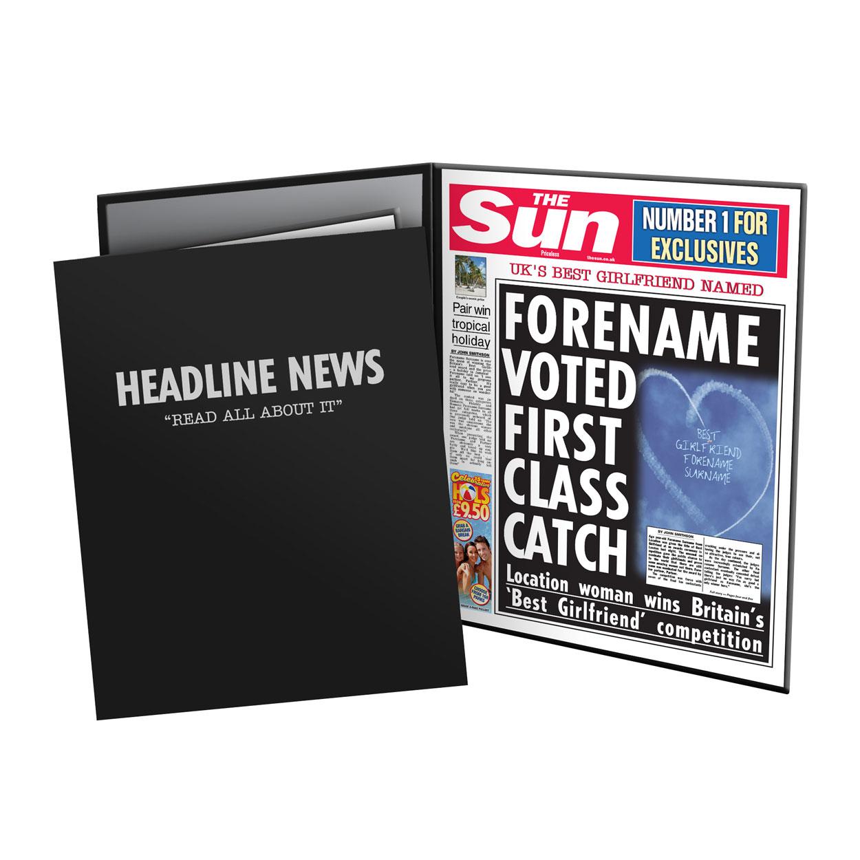 The Sun Best Girlfriend News Folder