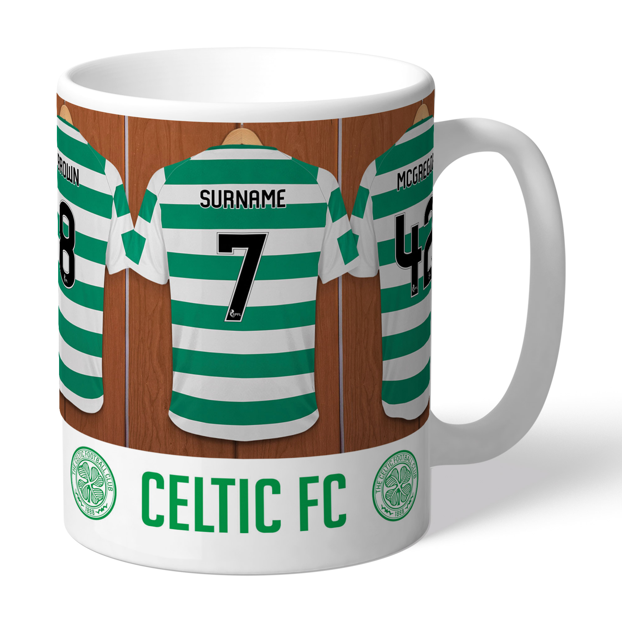 Celtic FC Dressing Room Mug