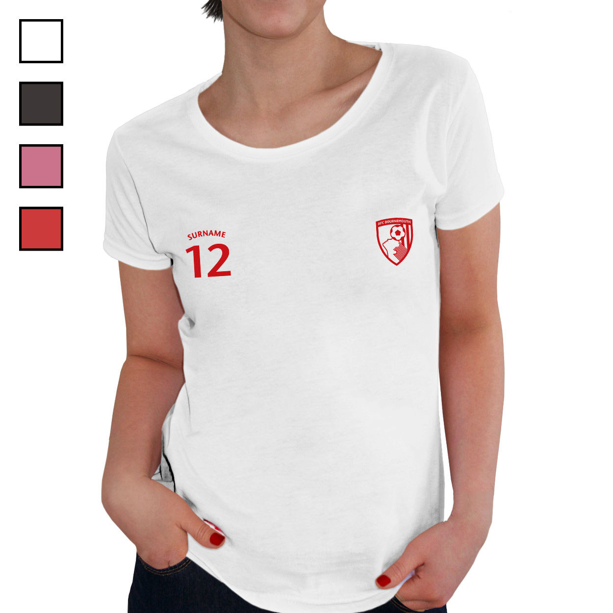 AFC Bournemouth Ladies Sports T-Shirt