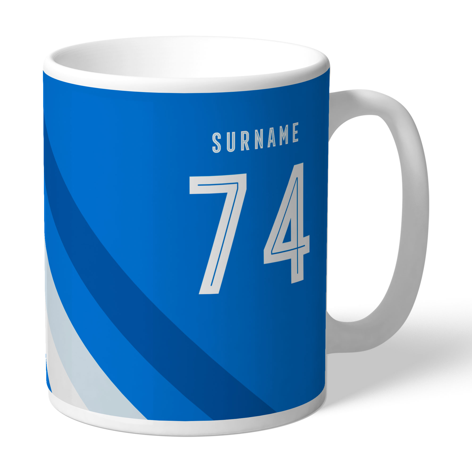 Huddersfield Town Stripe Mug