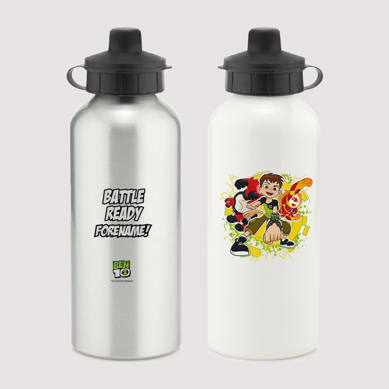 Ben 10 Battle Ready Water Bottle