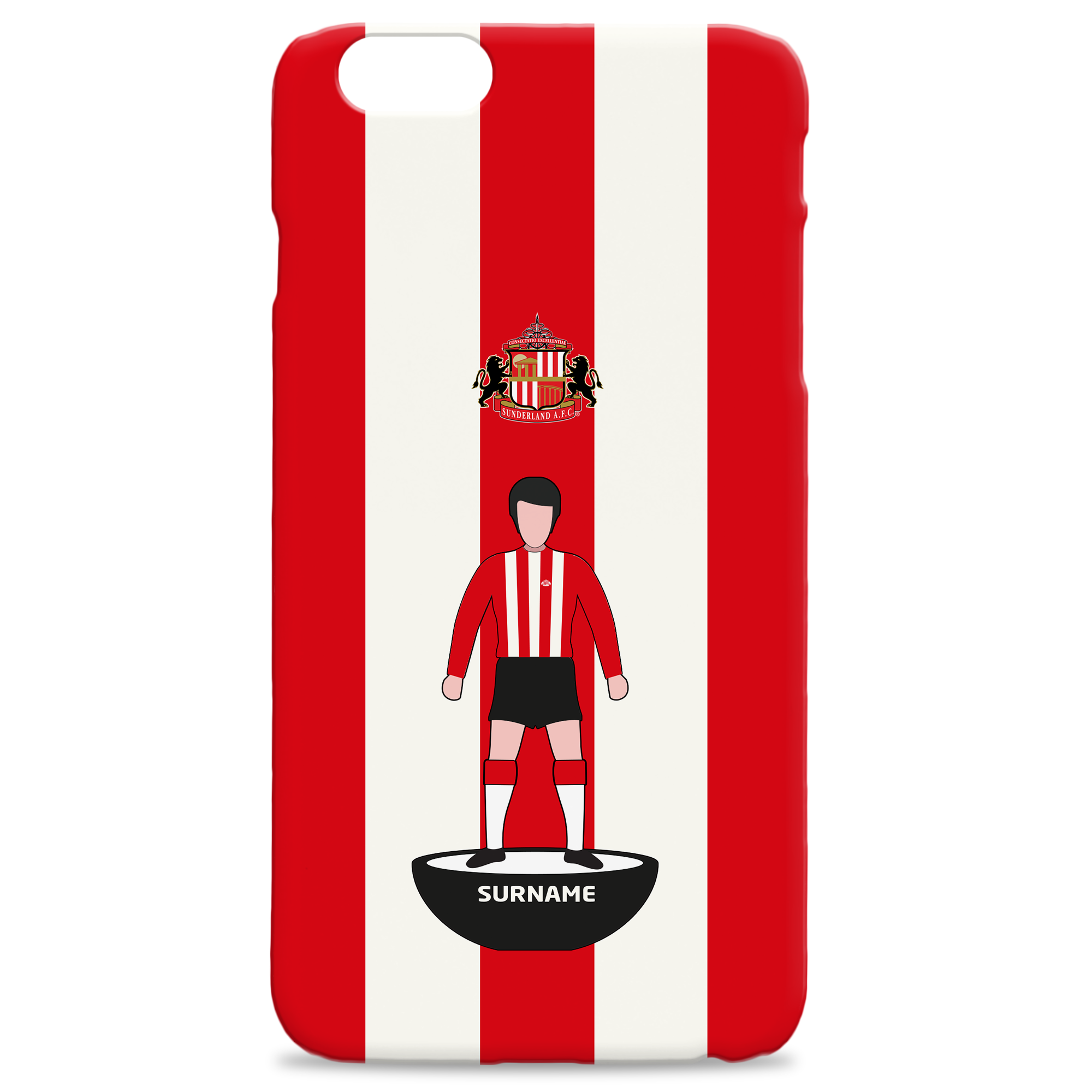 Sunderland Player Figure Hard Back Phone Case
