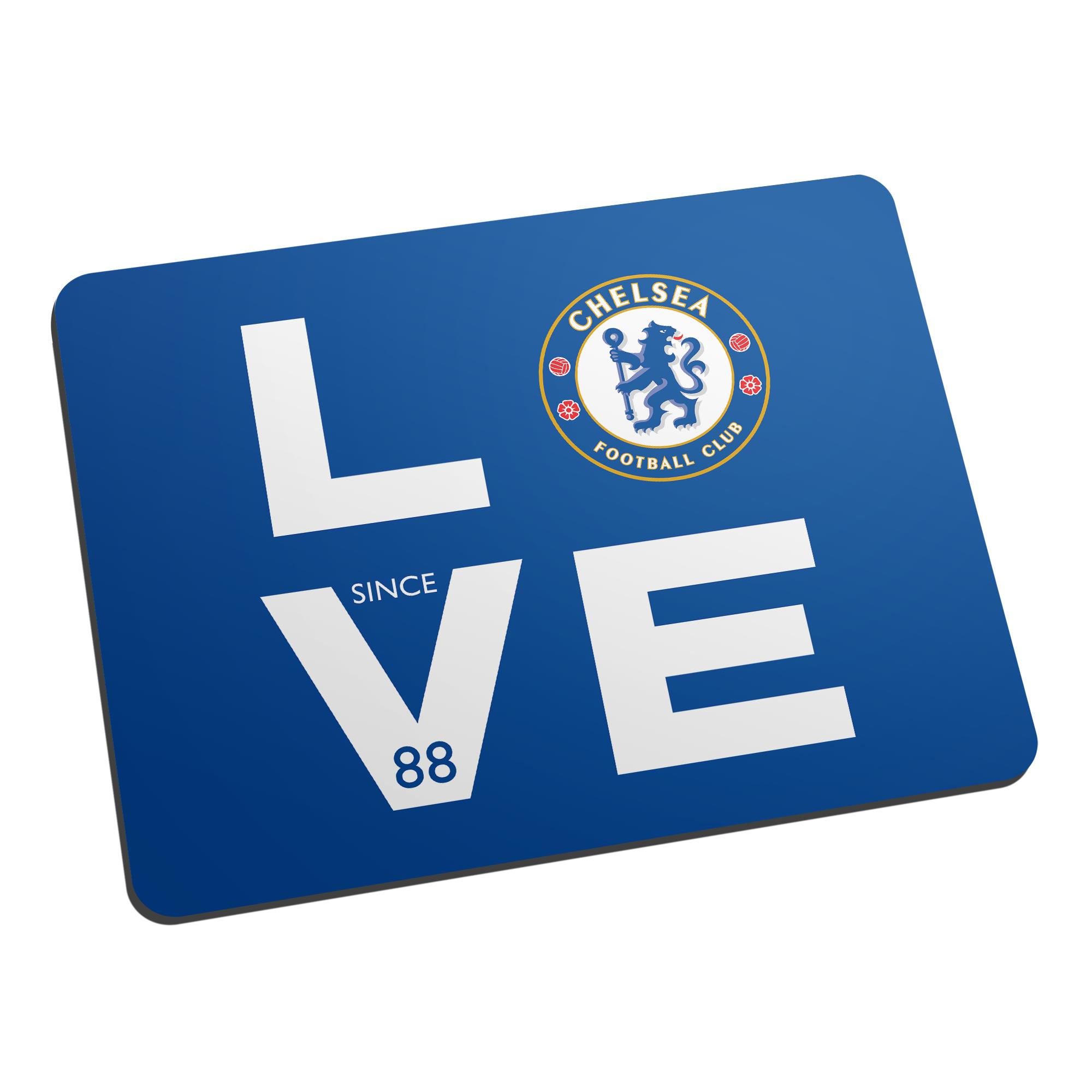 Chelsea FC Love Mouse Mat