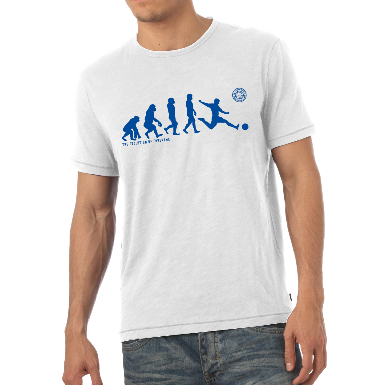 Leicester City FC Evolution Mens T-Shirt
