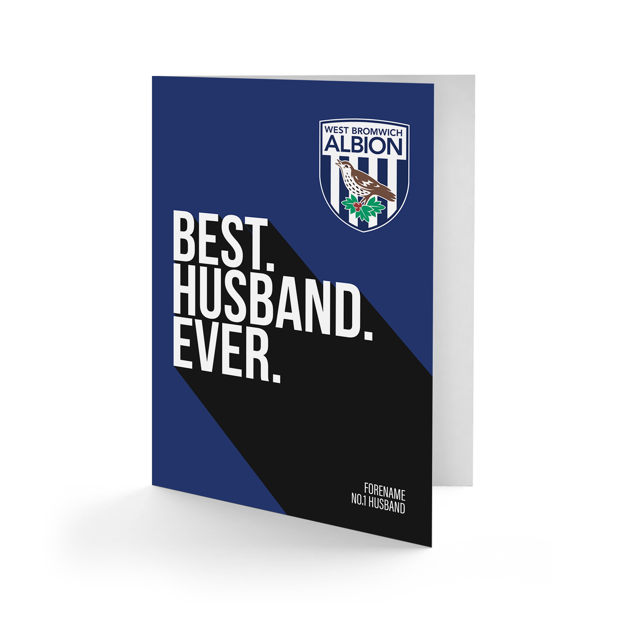 West Bromwich Albion FC Best Husband Ever Card