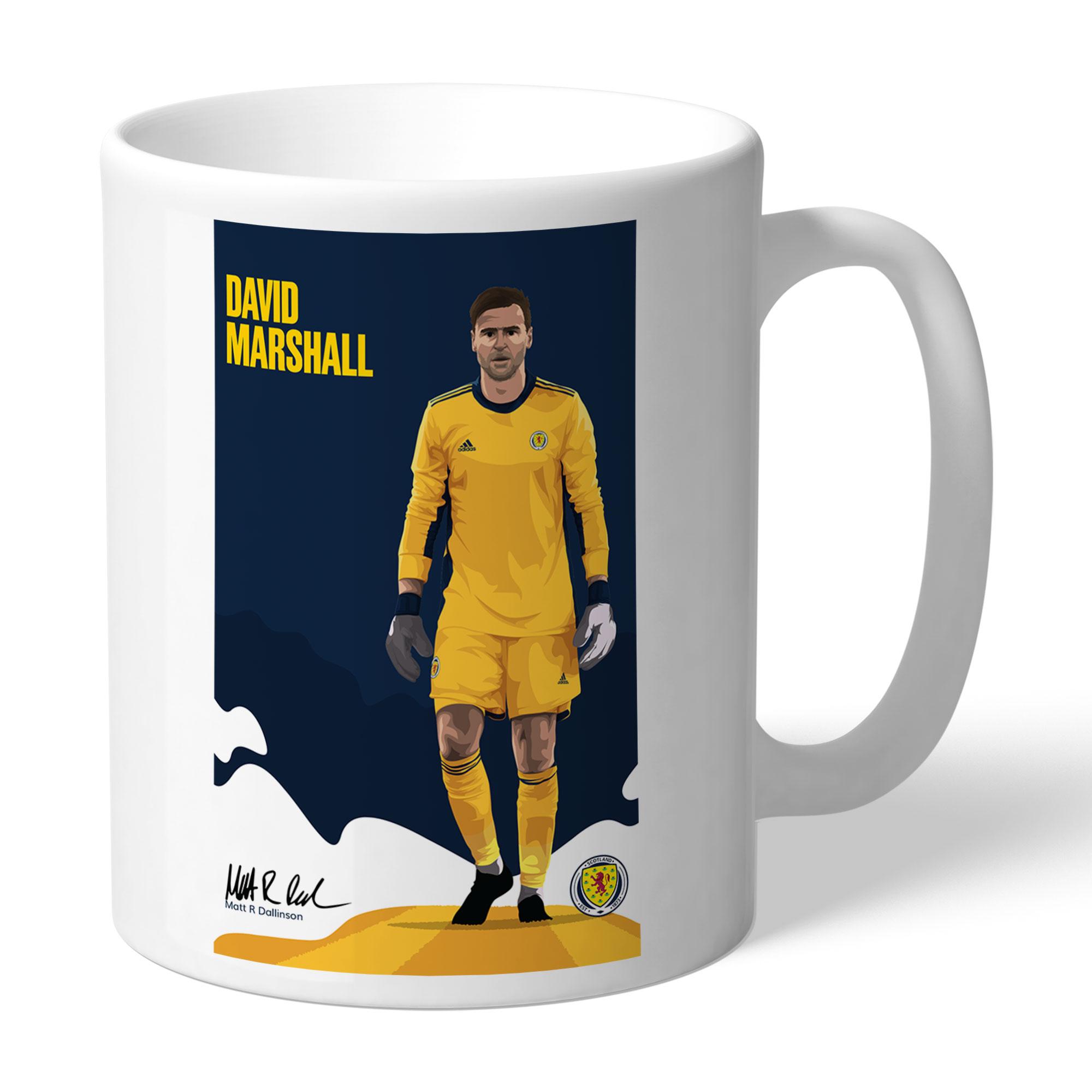 Scotland Marshall Art Mug