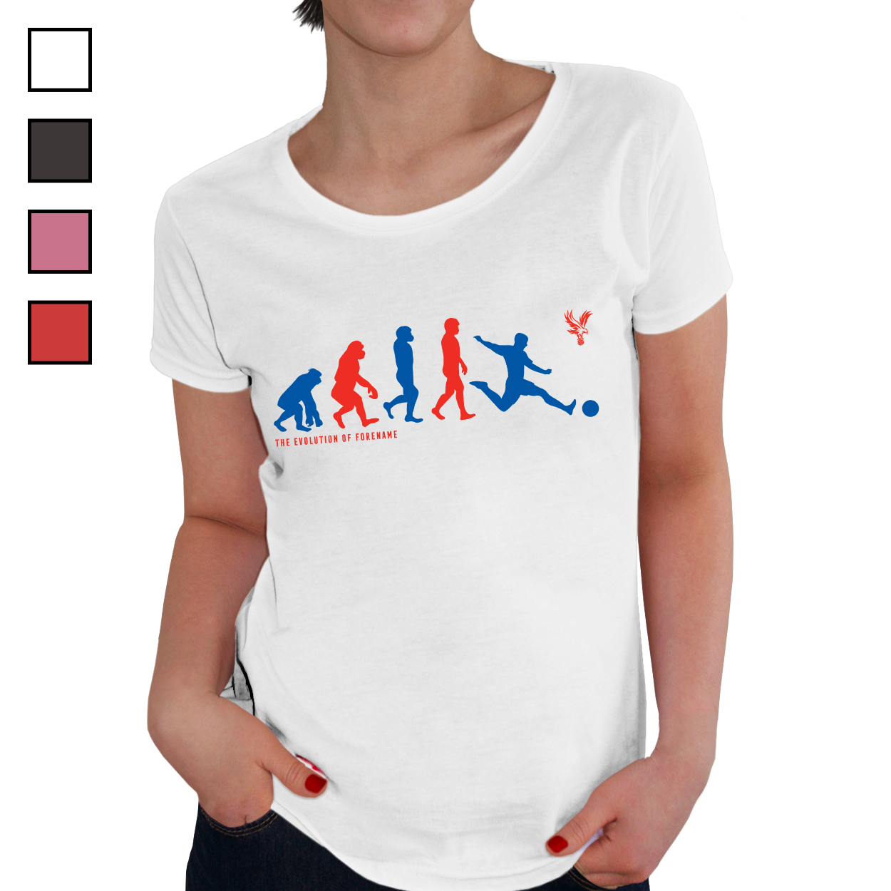 Crystal Palace FC Evolution Ladies T-Shirt