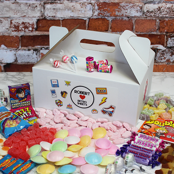 Retro Sweet Tuck Box - Large