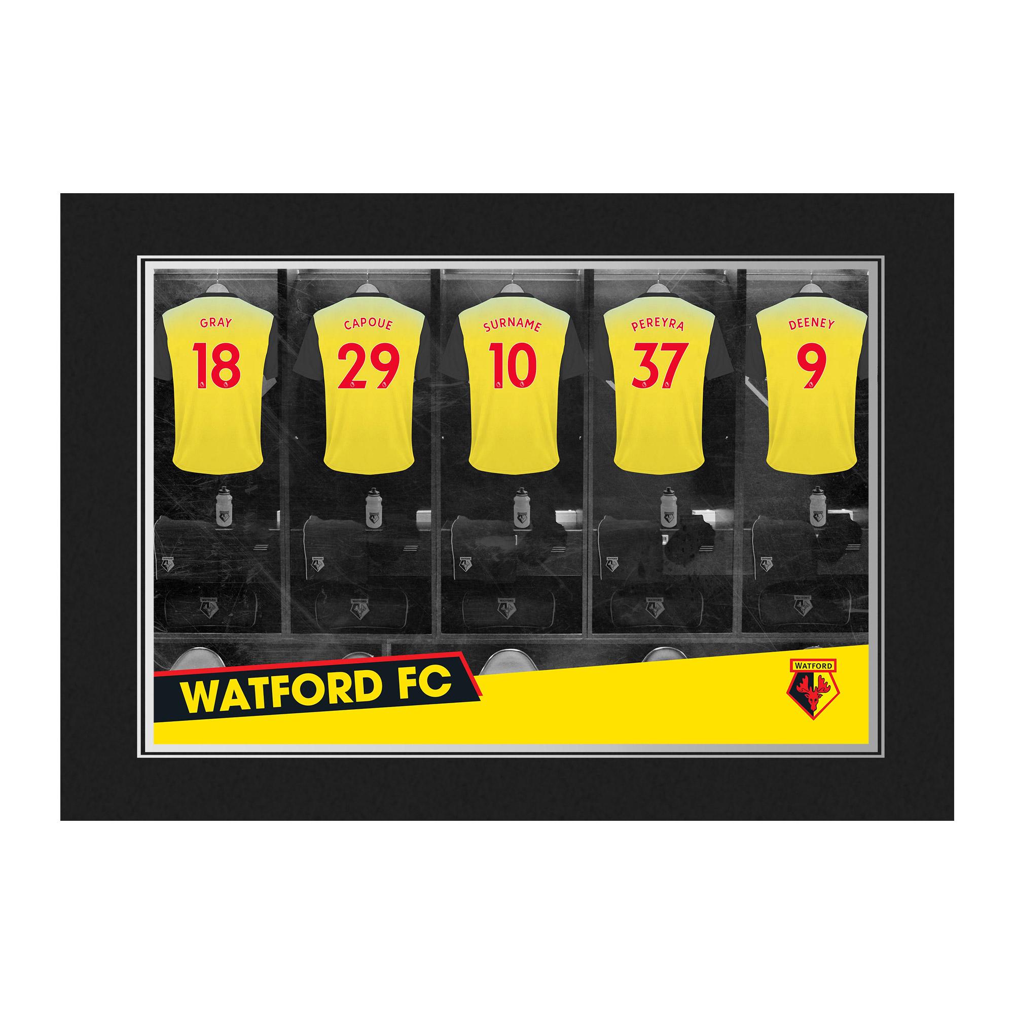 Watford FC 9x6 Dressing Room Photo