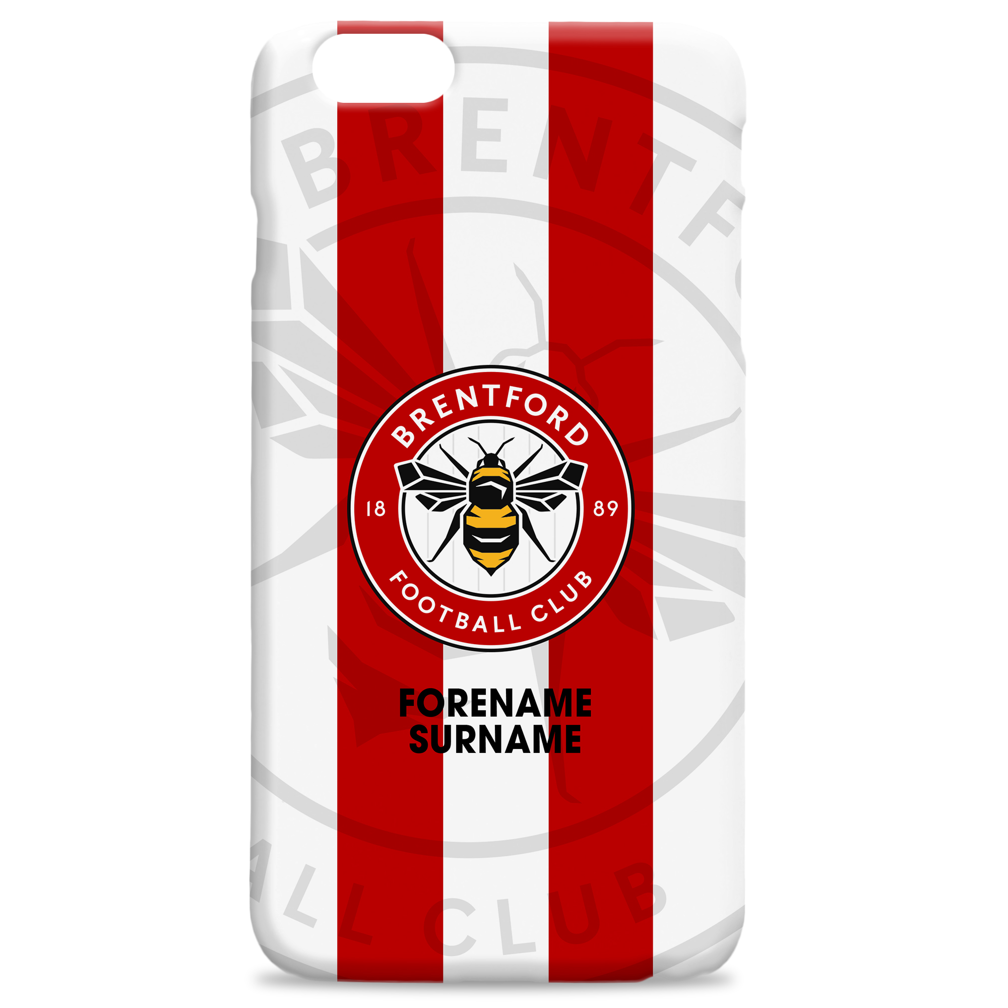 Brentford Bold Crest Phone Case