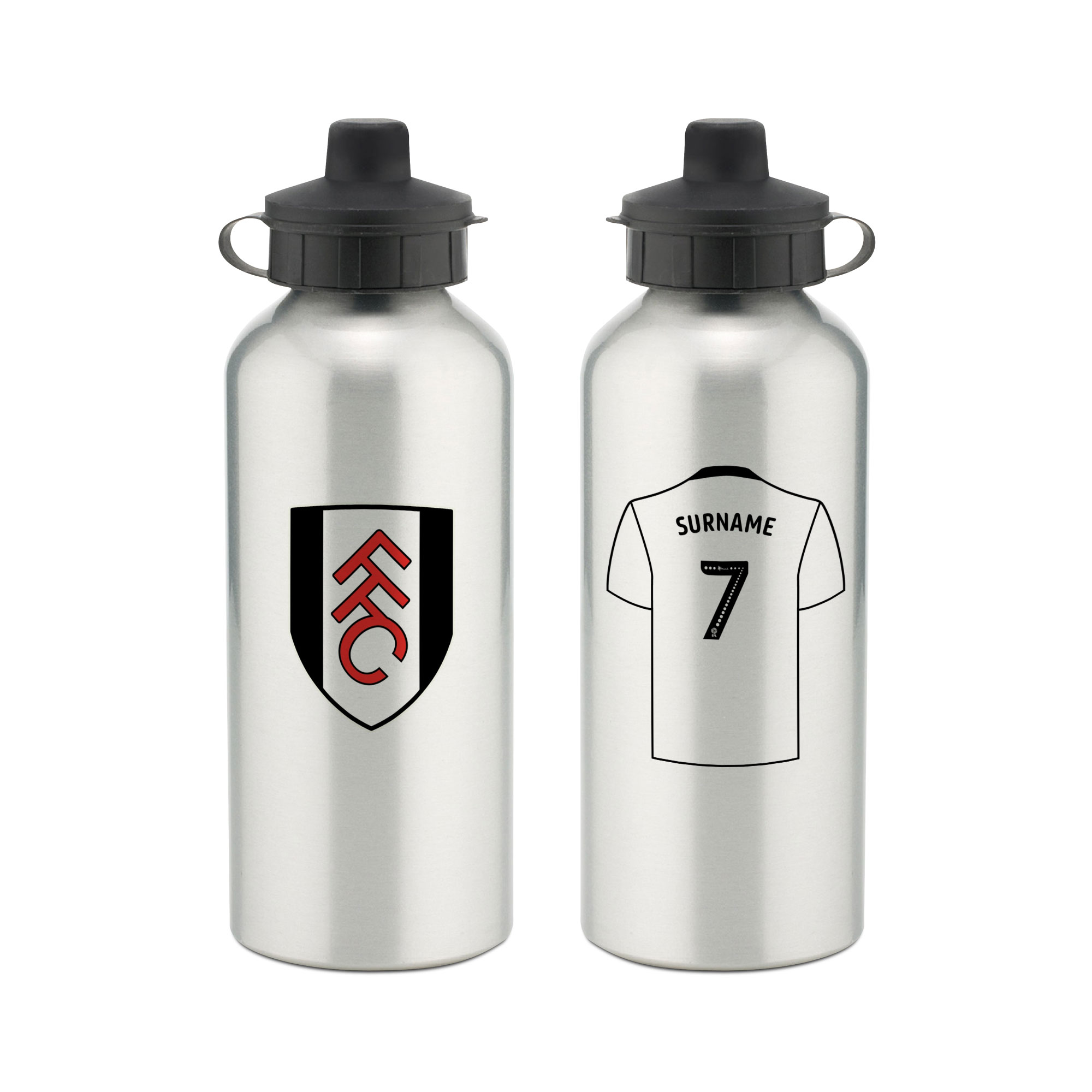 Fulham FC Aluminium Water Bottle