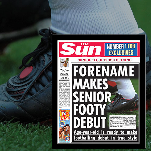 The Sun Oldest Signing News
