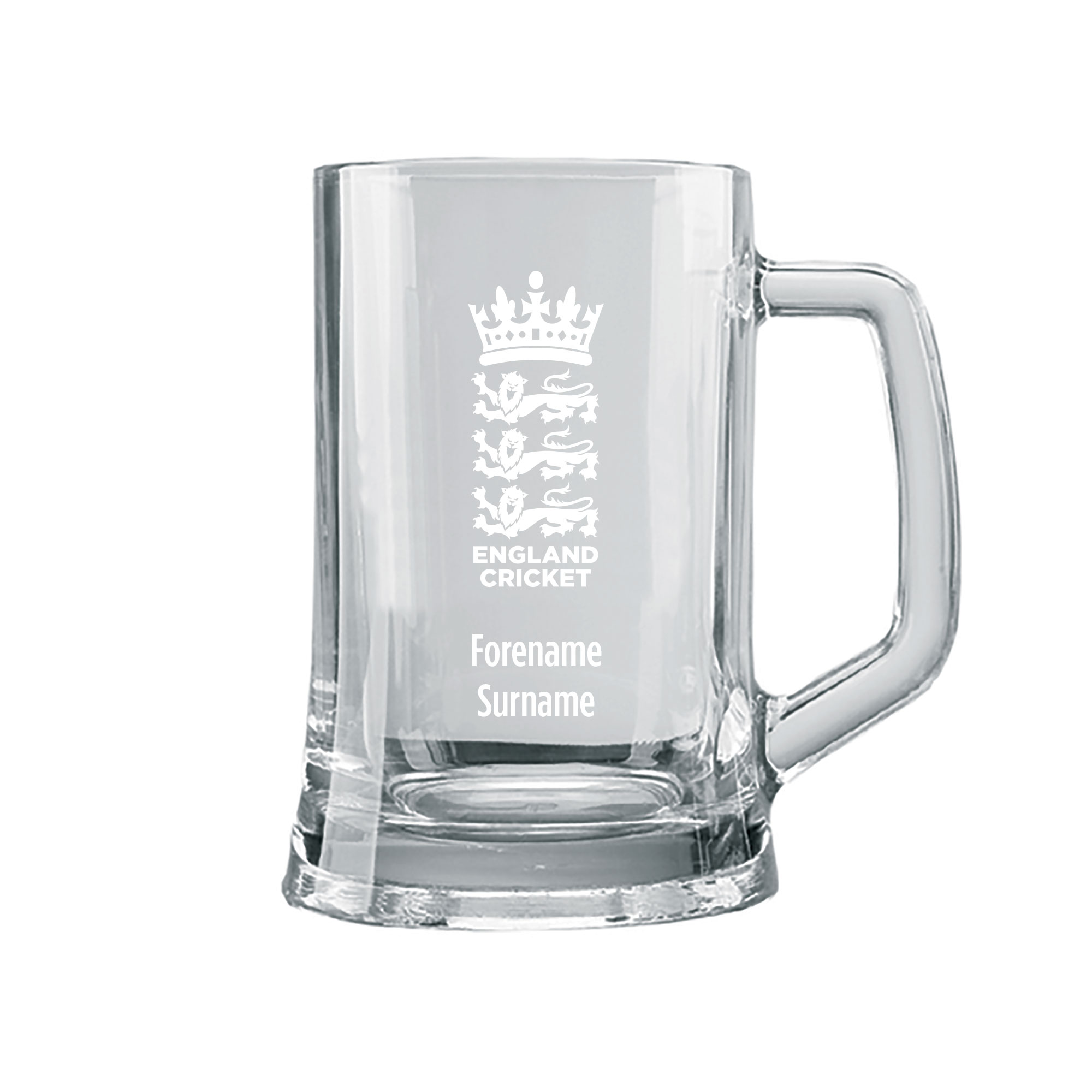 England Cricket Personalised Tankard