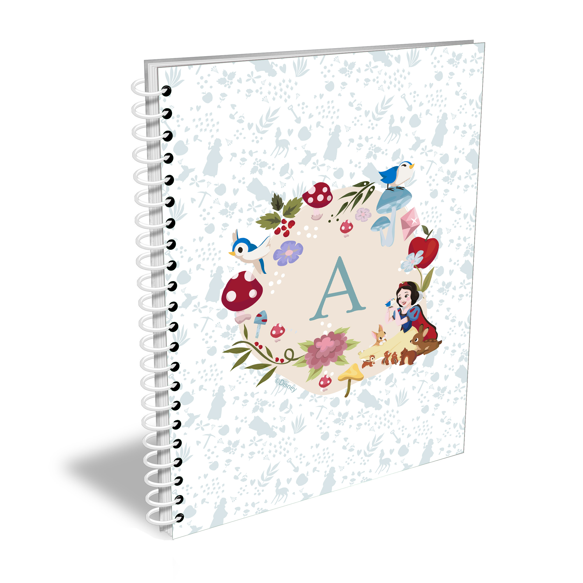 Disney Princess Snow White Initial A5 Notebook