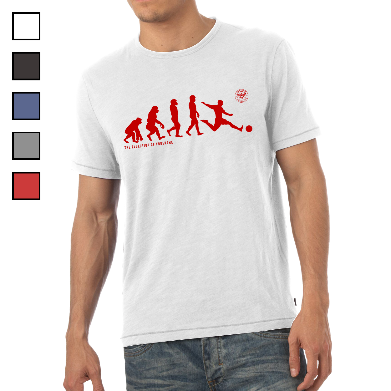 Brentford Evolution Mens T-Shirt